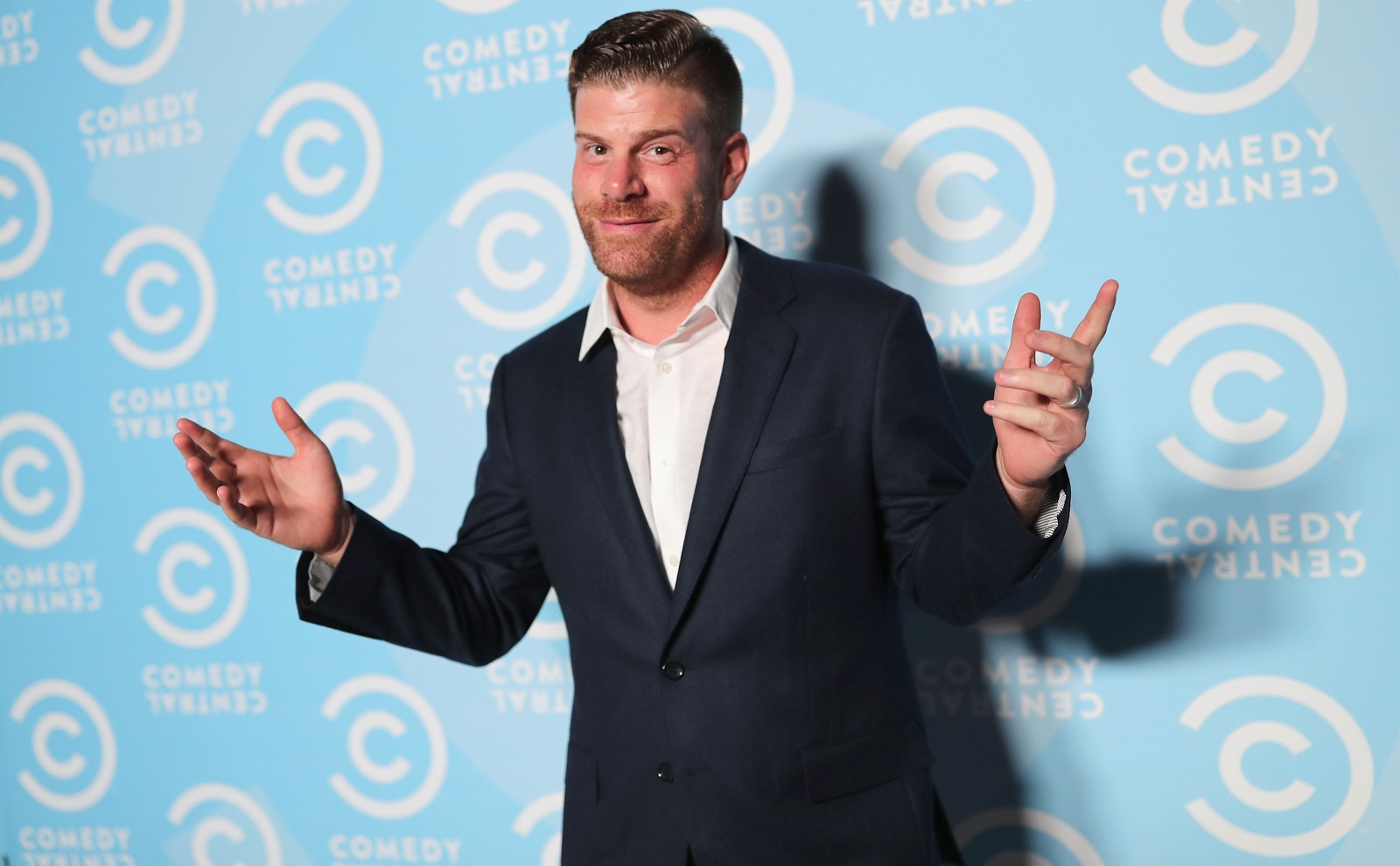 Comedian Steve Rannazzisi, who stars in 'The League,' stops by Helium Comedy Club on Thursday. (Getty Images)