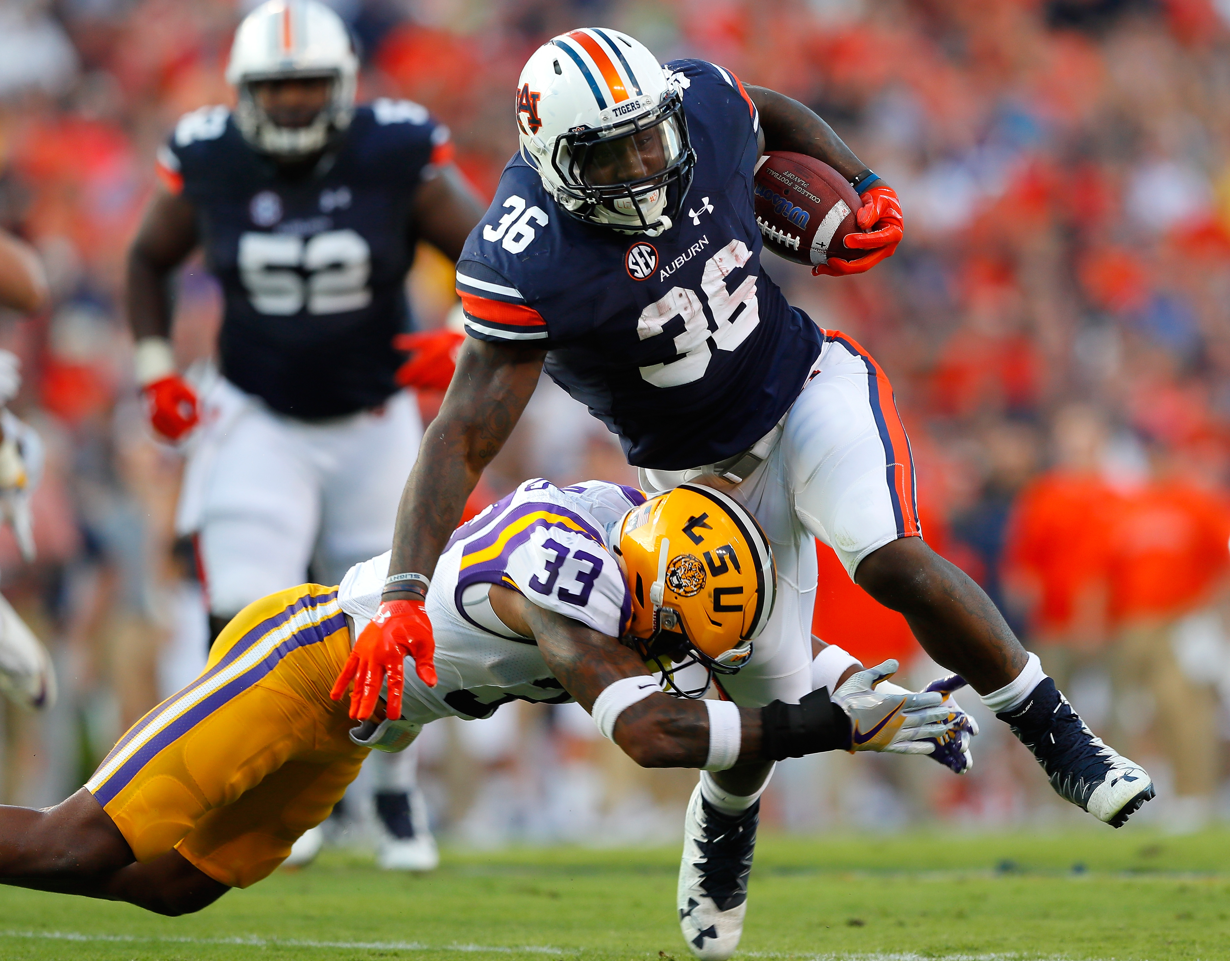 LSU's Jamal Adams is one of two safeties with the potential to go in the top five. (Getty Images)
