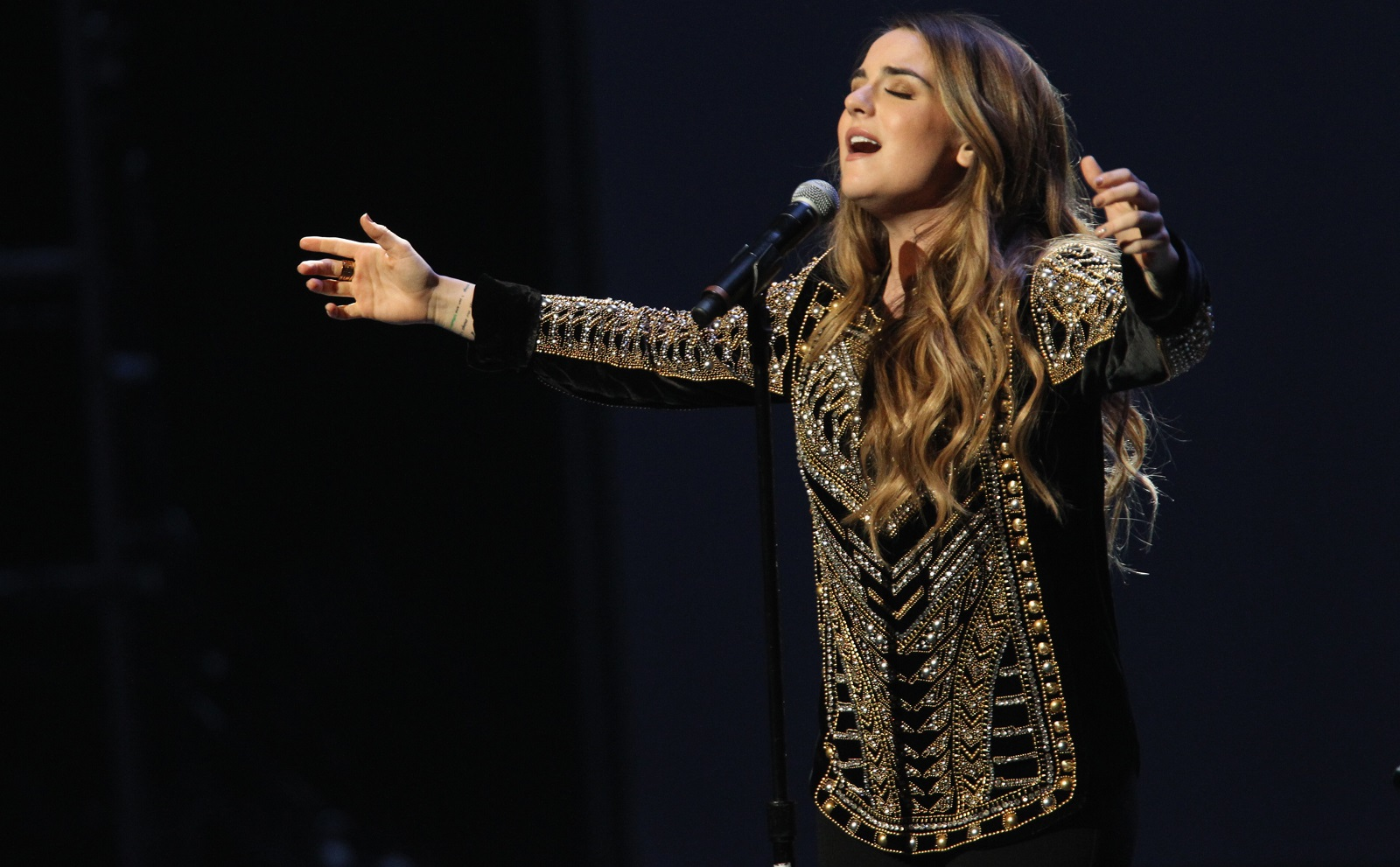 Singer-songwriter-actress JoJo will perform in Town Ballroom on Sunday. (Getty Images)