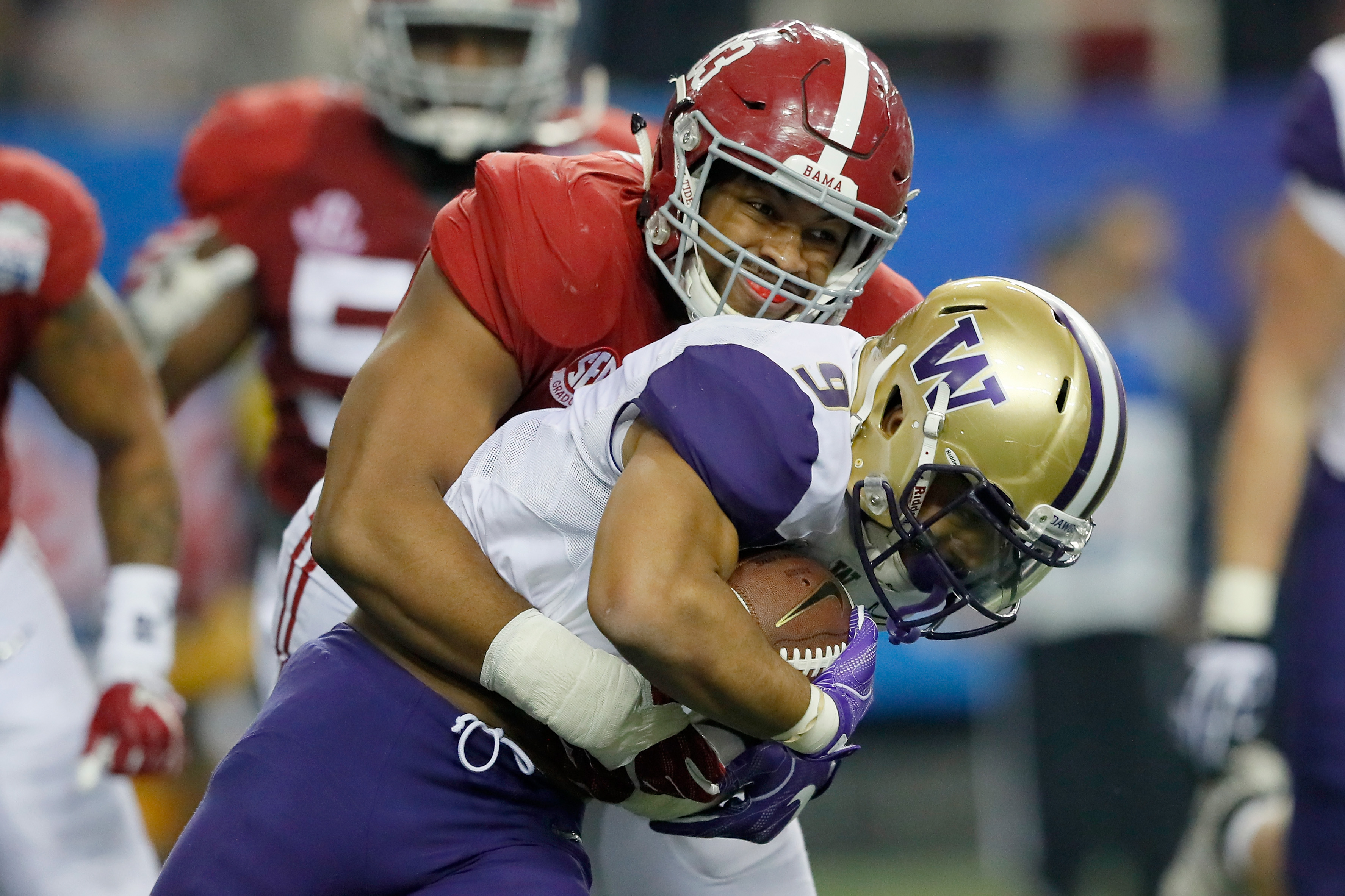 Alabama's Jonathan Allen can play inside or on the edge. (Getty Images)
