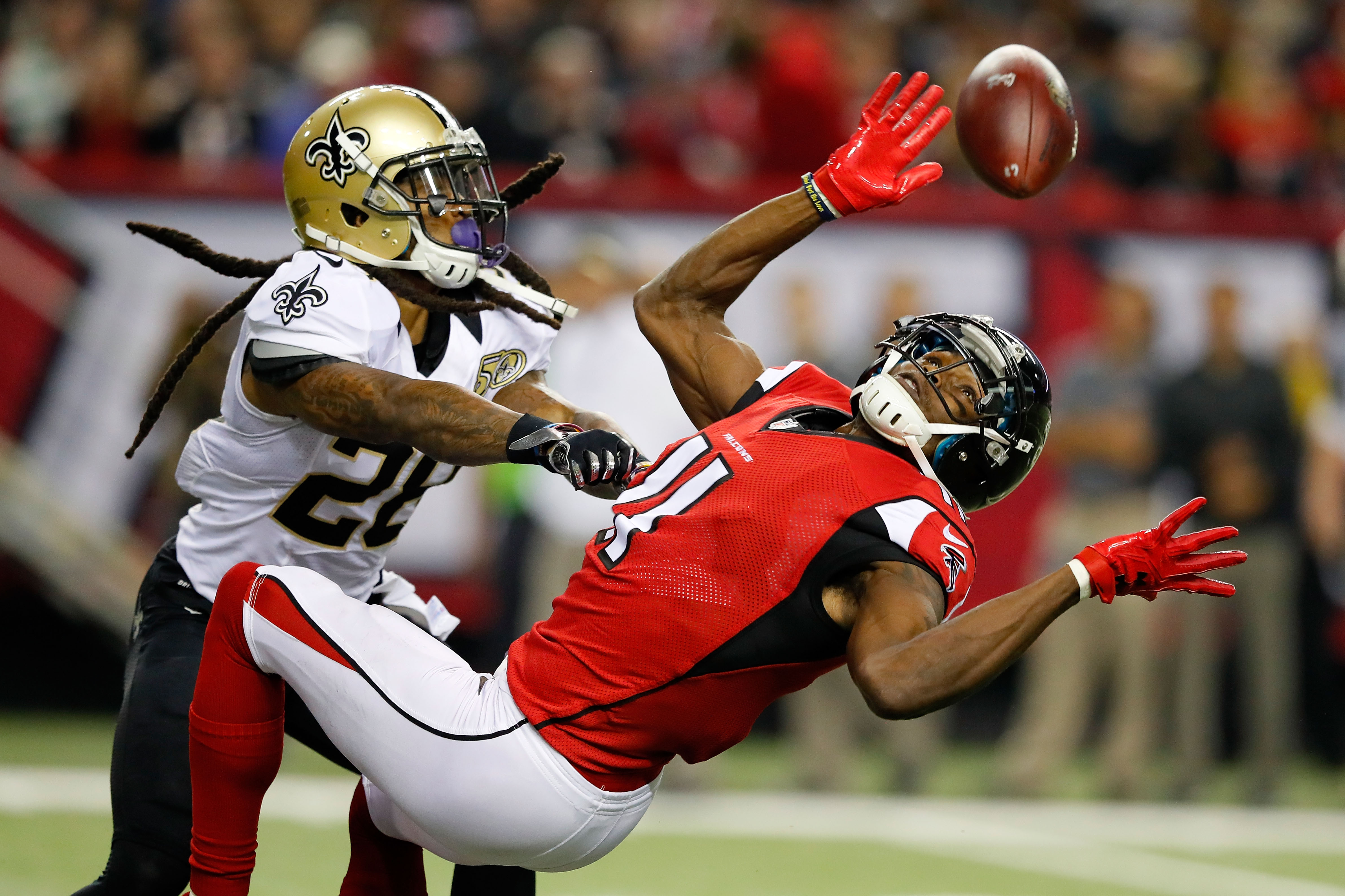 Cornerback B.W. Webb (28) has played for four different teams in his four years in the NFL, including the New Orleans Saints in 2016. (Getty Images)