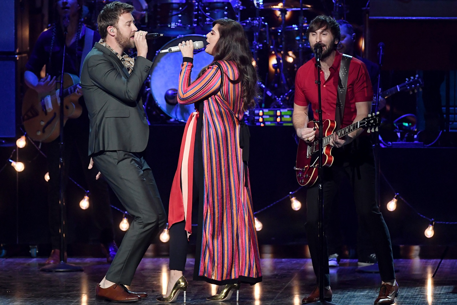 Trio Lady Antebellum will include Darien Lake on their first tour after taking a break. (Getty Images)