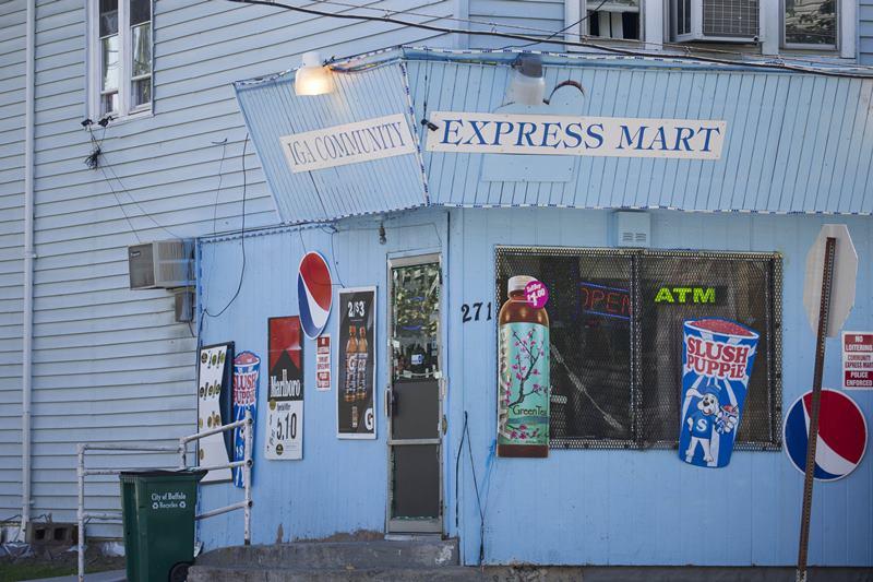 The IGA Community Express Mart on Ludington and Davey in Lovejoy.  (Derek Gee/Buffalo News file photo)