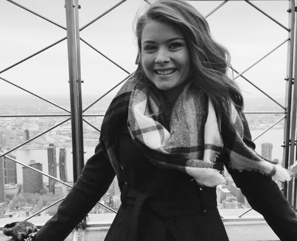 Orchard Park High School student Karlin Klass will be going to Italy this summer to talk about her F.O.O.D. Initiative using wasted food to feed the hungry. (Courtesy Karlin Klass)