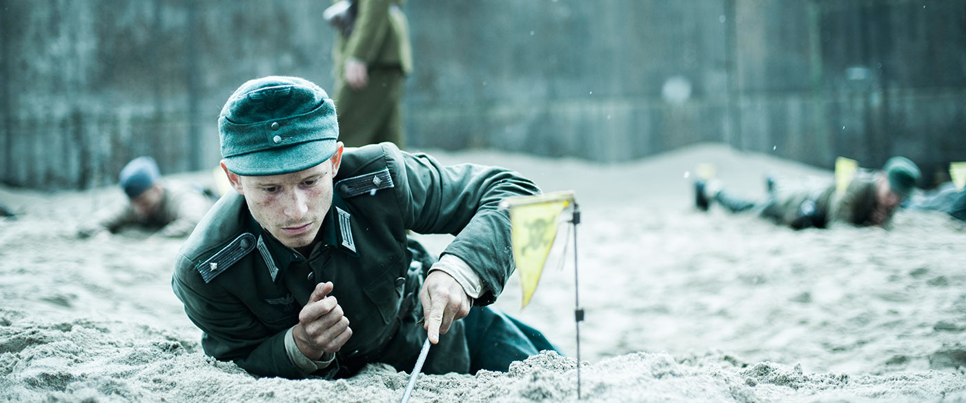 'Land of Mine' is a gut-wrenching film with roots in reality of teenage POWs forced to clear land mines in World War II.