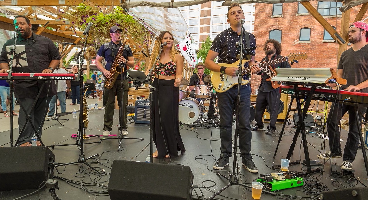 The Buffalovebirds performing at the final Live at Larkin of 2016. The new schedule for 2017 is announced today. (Don Nieman/Special to The News)