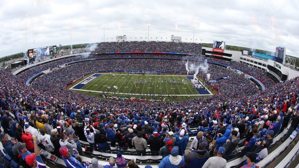 Bills fans pile in at New Era Field (James P. McCoy/Buffalo News)