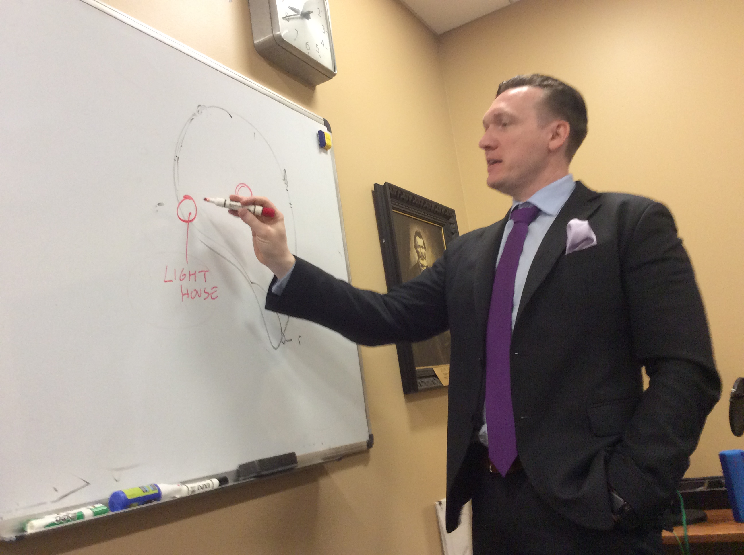 Grand Island Supervisor Nathan D. McMurray outlines his plans