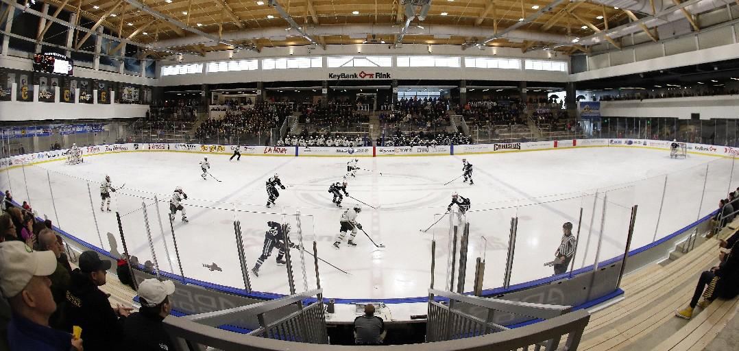 Sabres development camp will be held in HarborCenter. (Harry Scull Jr./Buffalo News)