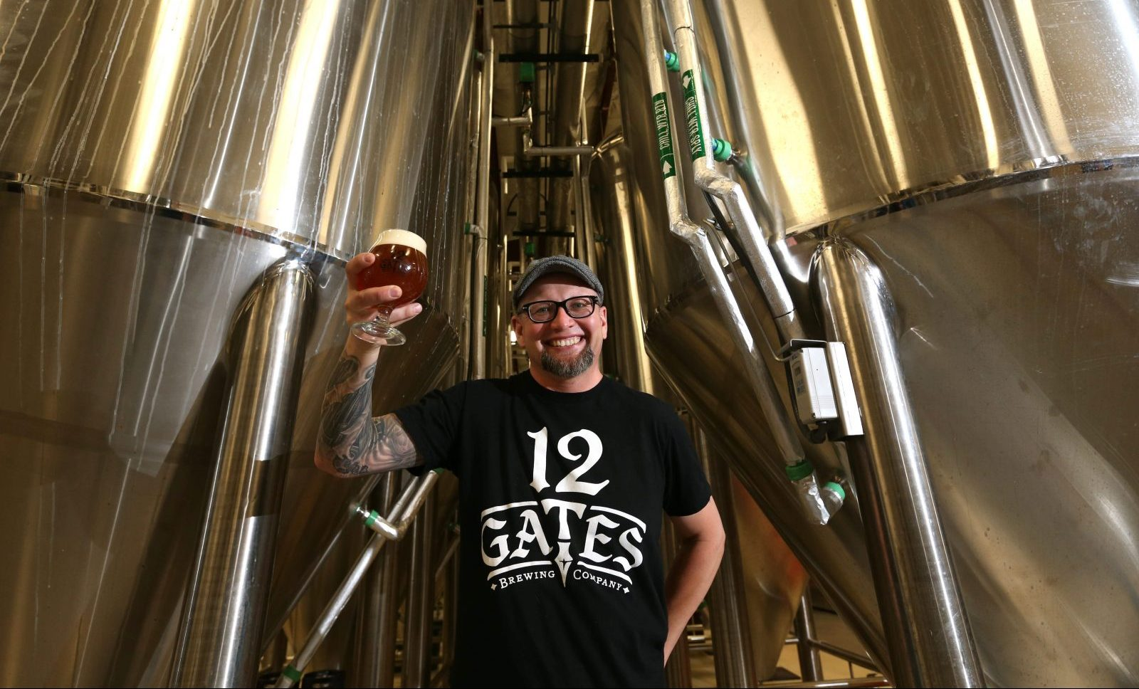 'I know I want to do a sour and an oyster stout,' 12 Gates Brewing Co. brewer Scott Shuler said, but 'this can very well change soon.' (Sharon Cantillon/Buffalo News file photo)