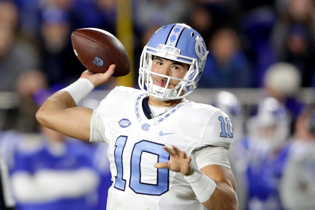 What if North Carolina quarterback Mitchell Trubisky is on the board when the Bills select 10th overall? (Getty Images)