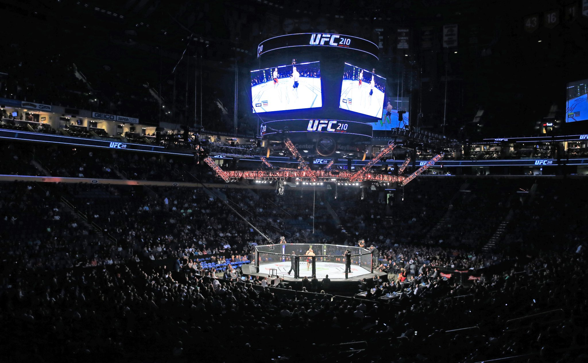 UFC210 at KeyBank Center. (Harry Scull Jr./Buffalo News)