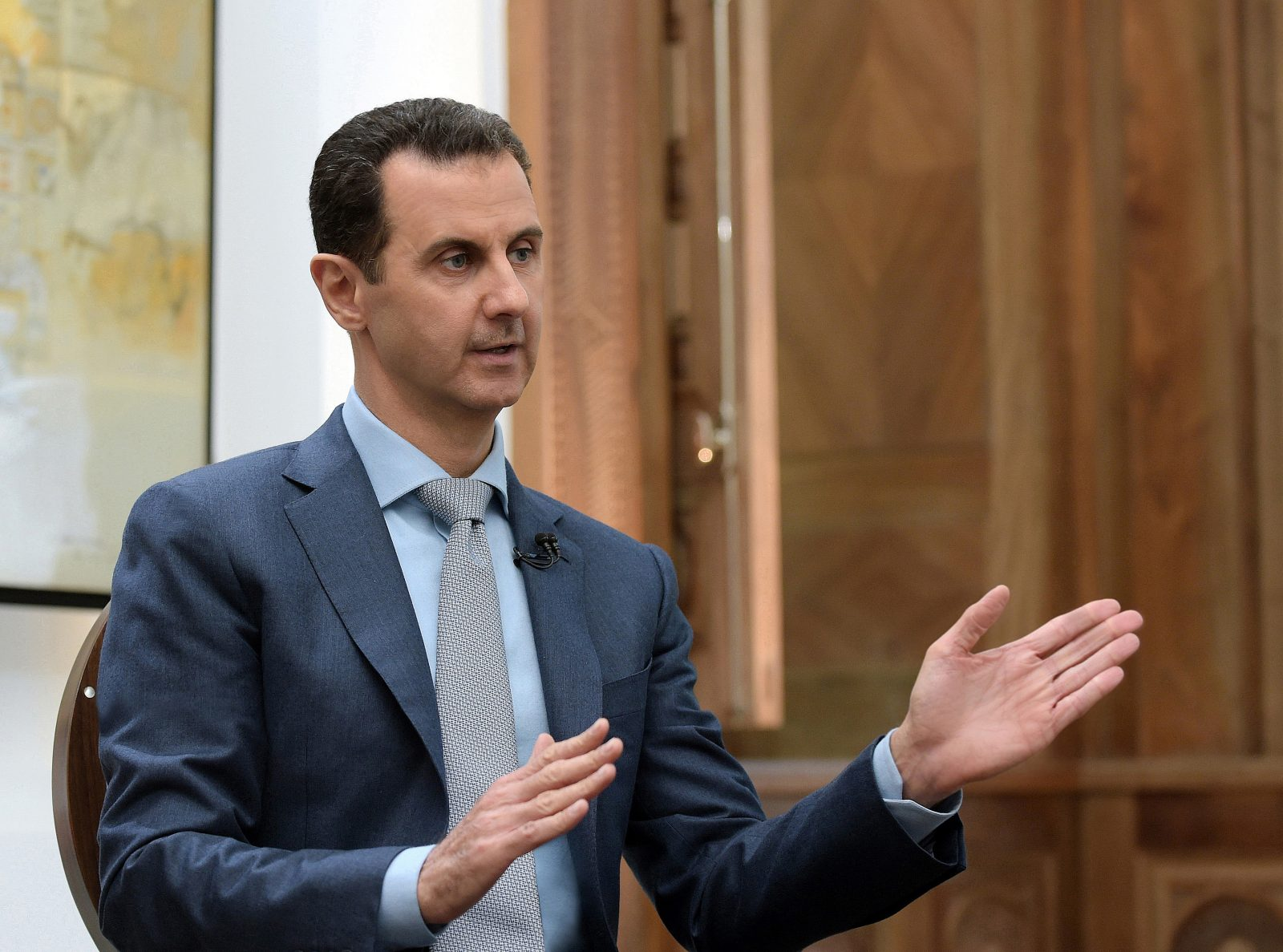 Syrian President Bashar Assad has repeatedly used chemical weapons to fight back rebels. (Salampix/Abaca Press/TNS file photo)
