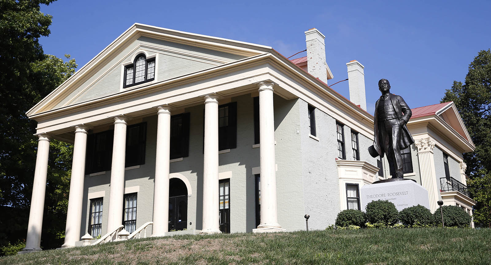The Wilcox Mansion, where President Theodore Roosevelt was inaugurated in 1901 following the assassination of President William McKinley, is now designated as a National Park. The building has more of a military past than you might expect. (Derek Gee/News file photo)