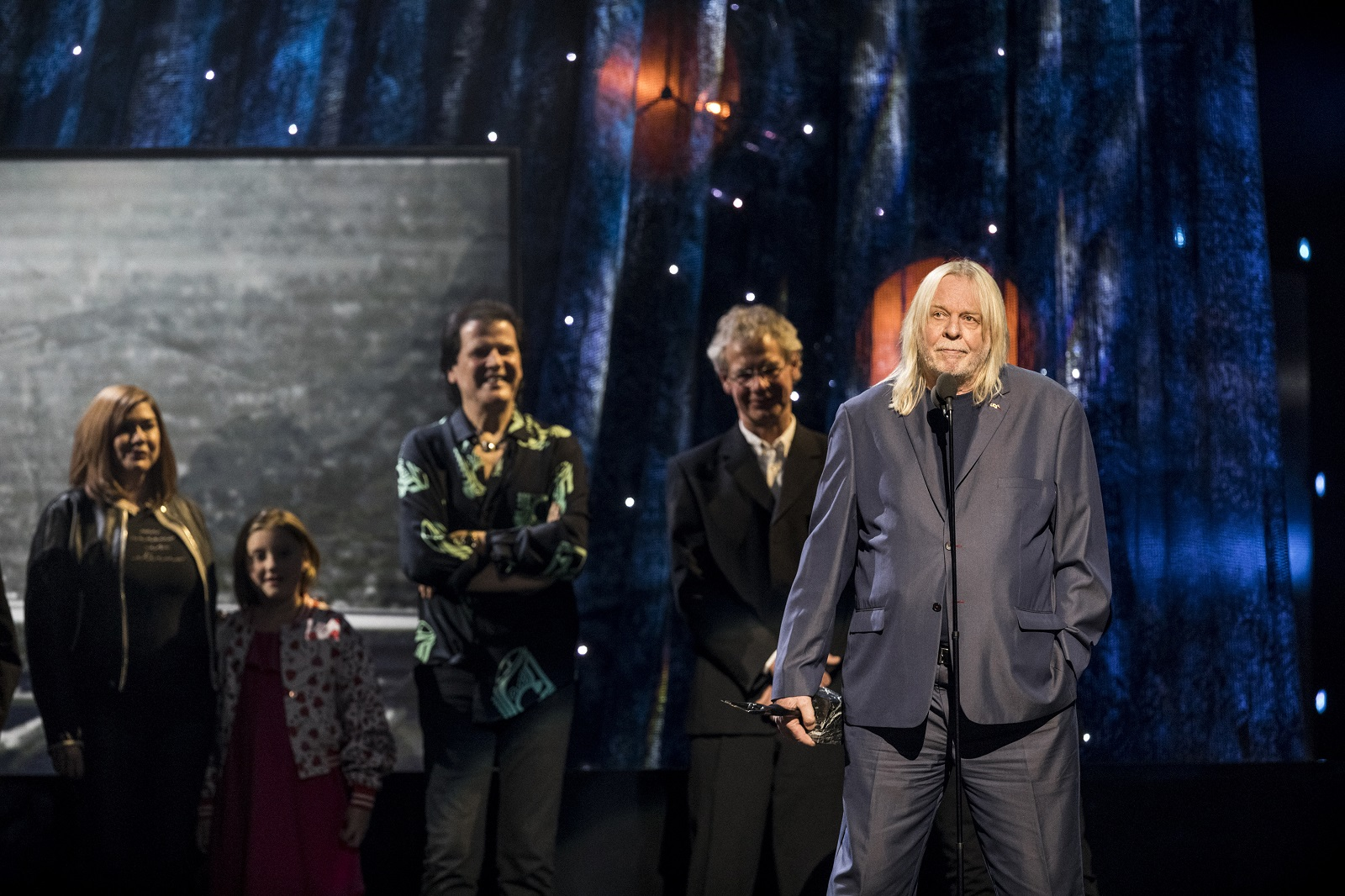 Rick Wakeman of Yes at the 32nd Annual Rock And Roll Hall of Fame Induction Ceremony at the Barclays Center in Brooklyn. (Chad Batka/The New York Times)