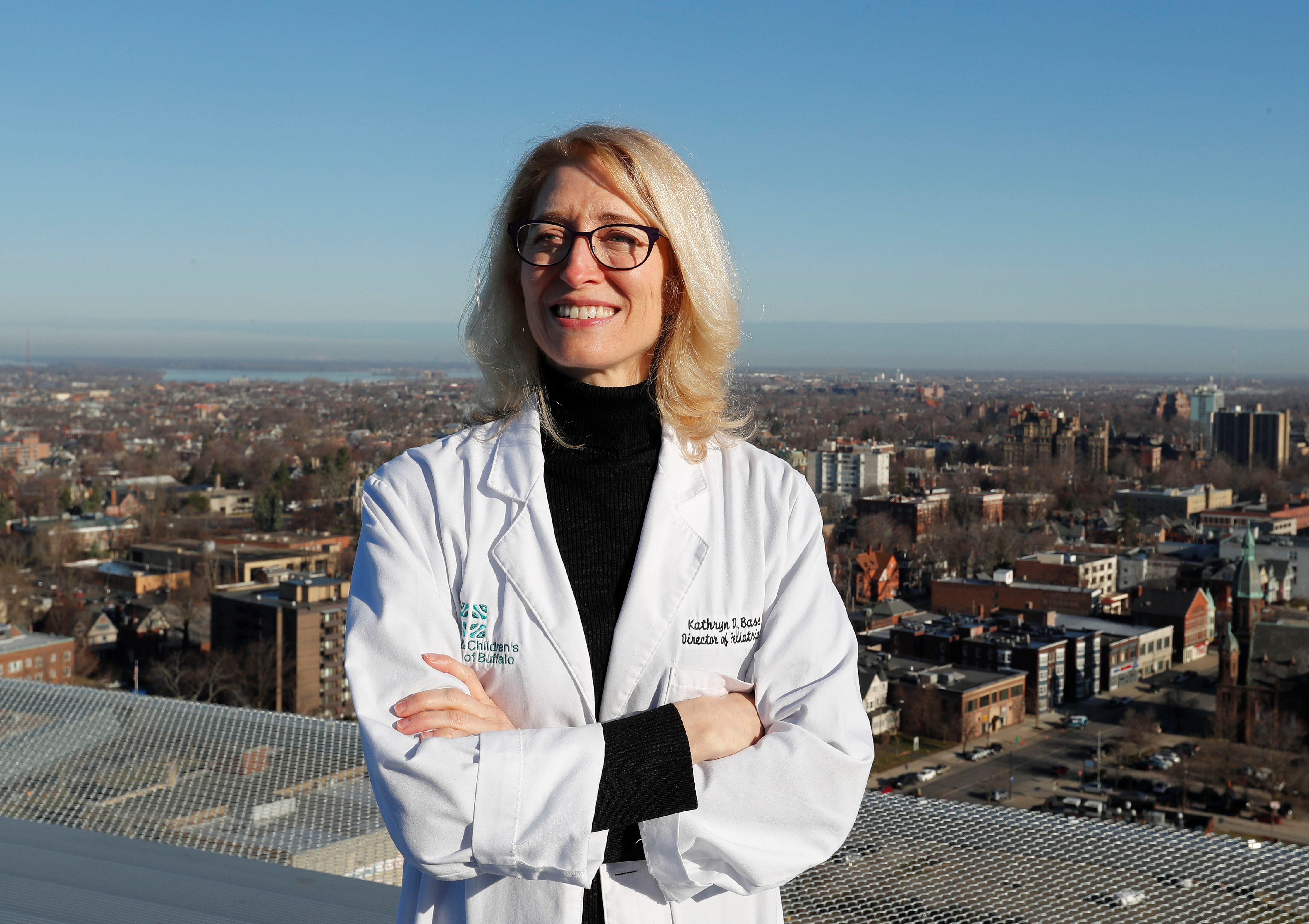 Dr. Kathryn D. Bass, director of trauma at Women's & Children's Hospital, is focused on moving into the new John R. Oishei facility in November.  (Mark Mulville/Buffalo News)