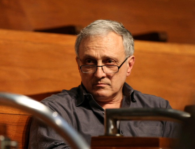 Buffalo School Board Member Carl P. Paladino plans to sue the board and other critics for conspiring to try to oust him. (James P. McCoy/News file photo)
