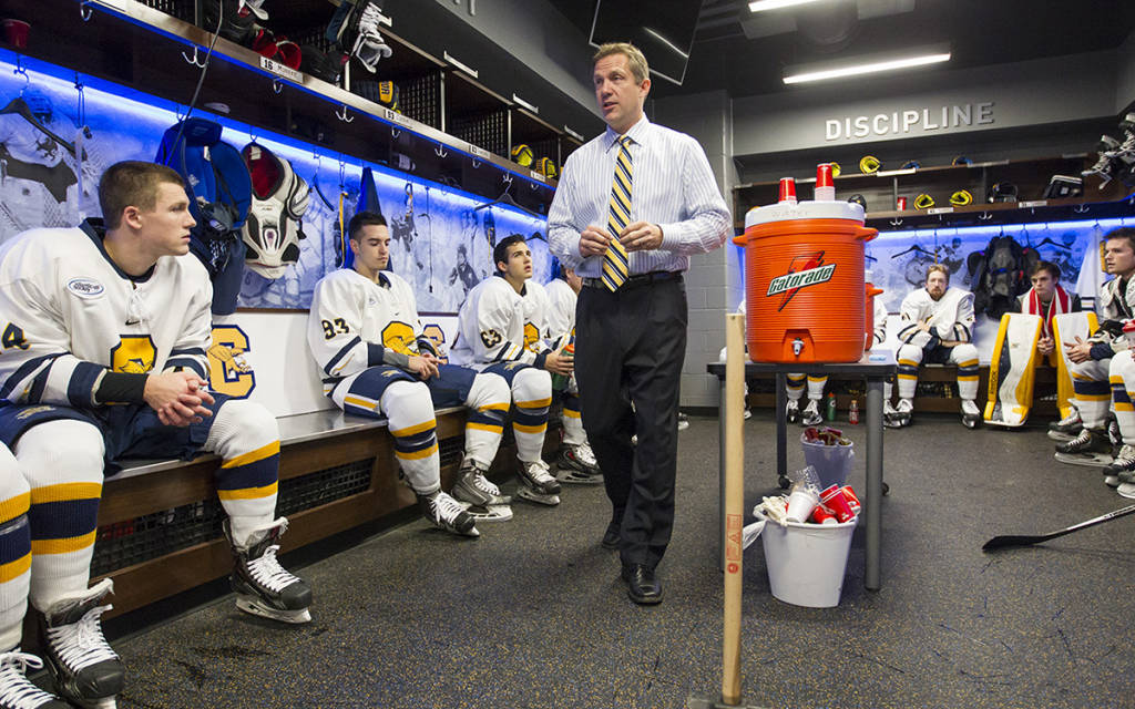 Dave Smith is leaving Canisius after 12 seasons. (Harry Scull Jr./Buffalo News)