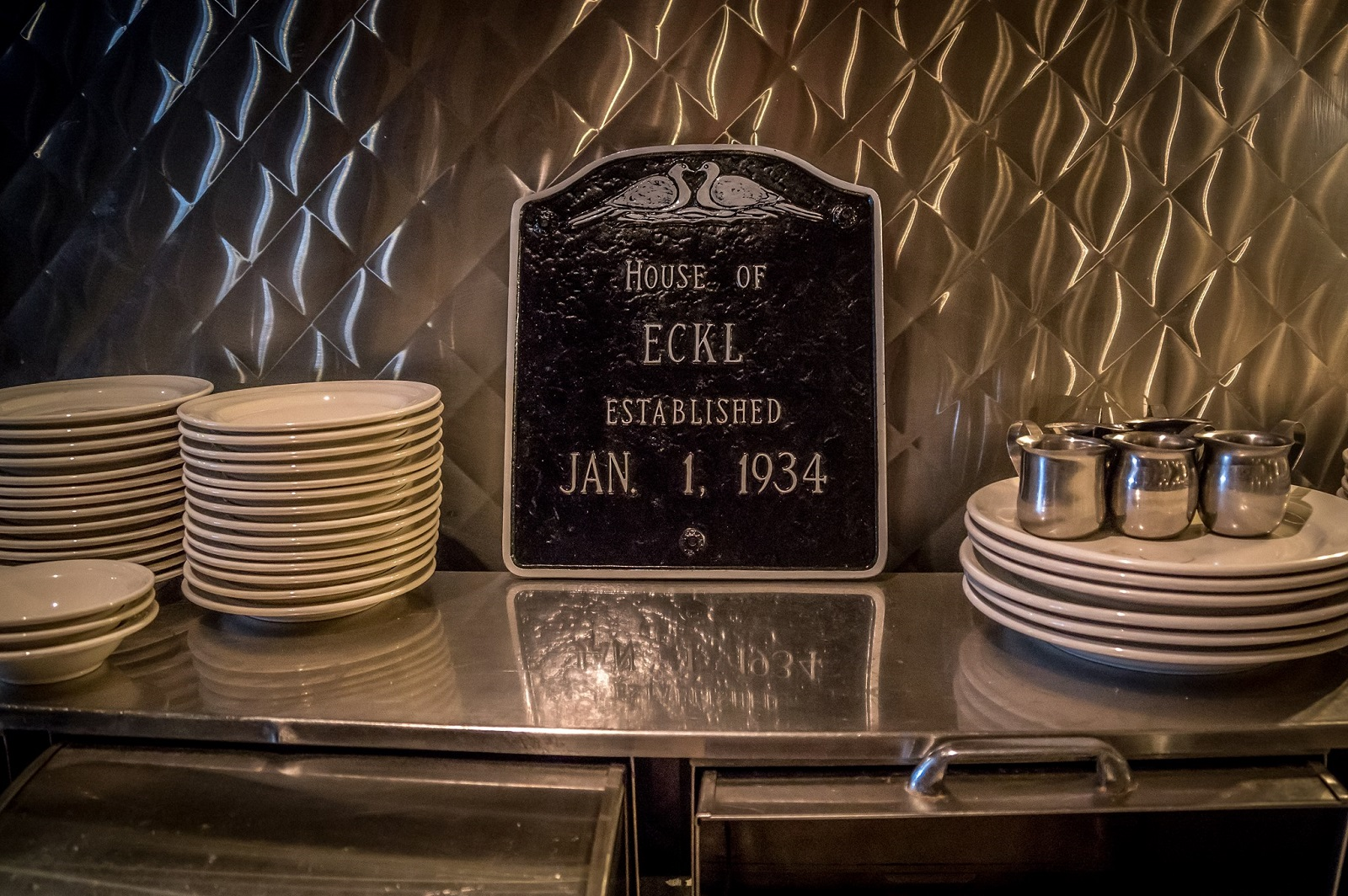 Founded in 1934, Eckl's reopened in fall of 2016 and drew large crowds for recent Local Restaurant Week. (Photo courtesy of Eckl's)