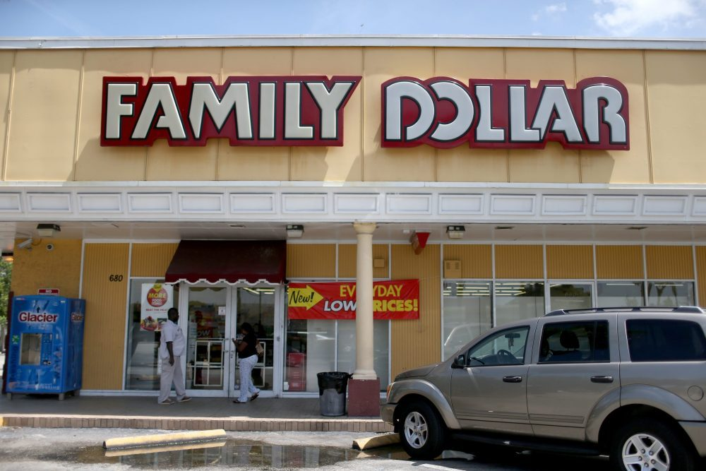 A Family Dollar store. (Getty Images)
