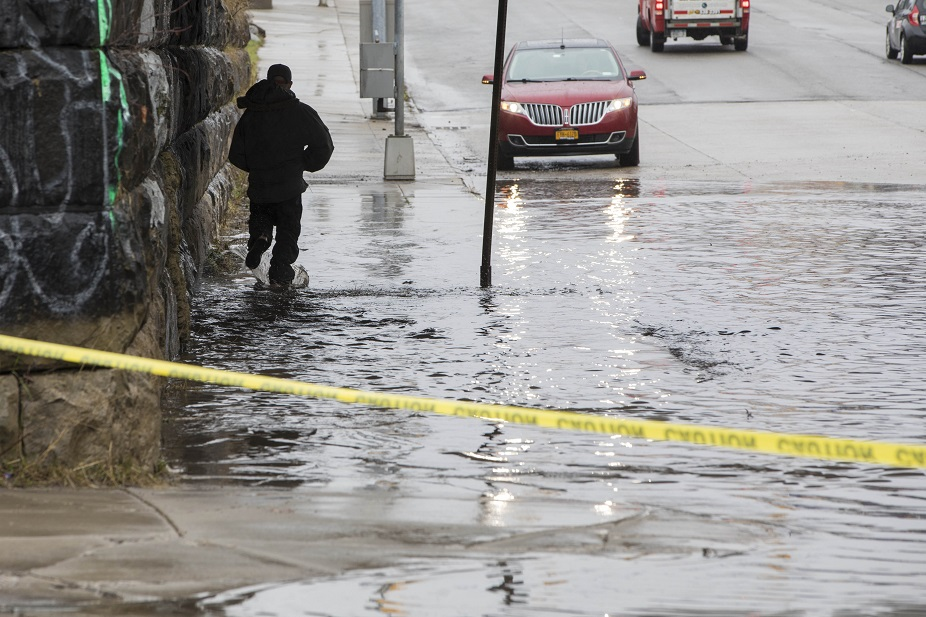 Record rainfall on Thursday has led to flooding concerns in parts of Western New York. (Derek Gee/Buffalo News file photo)
