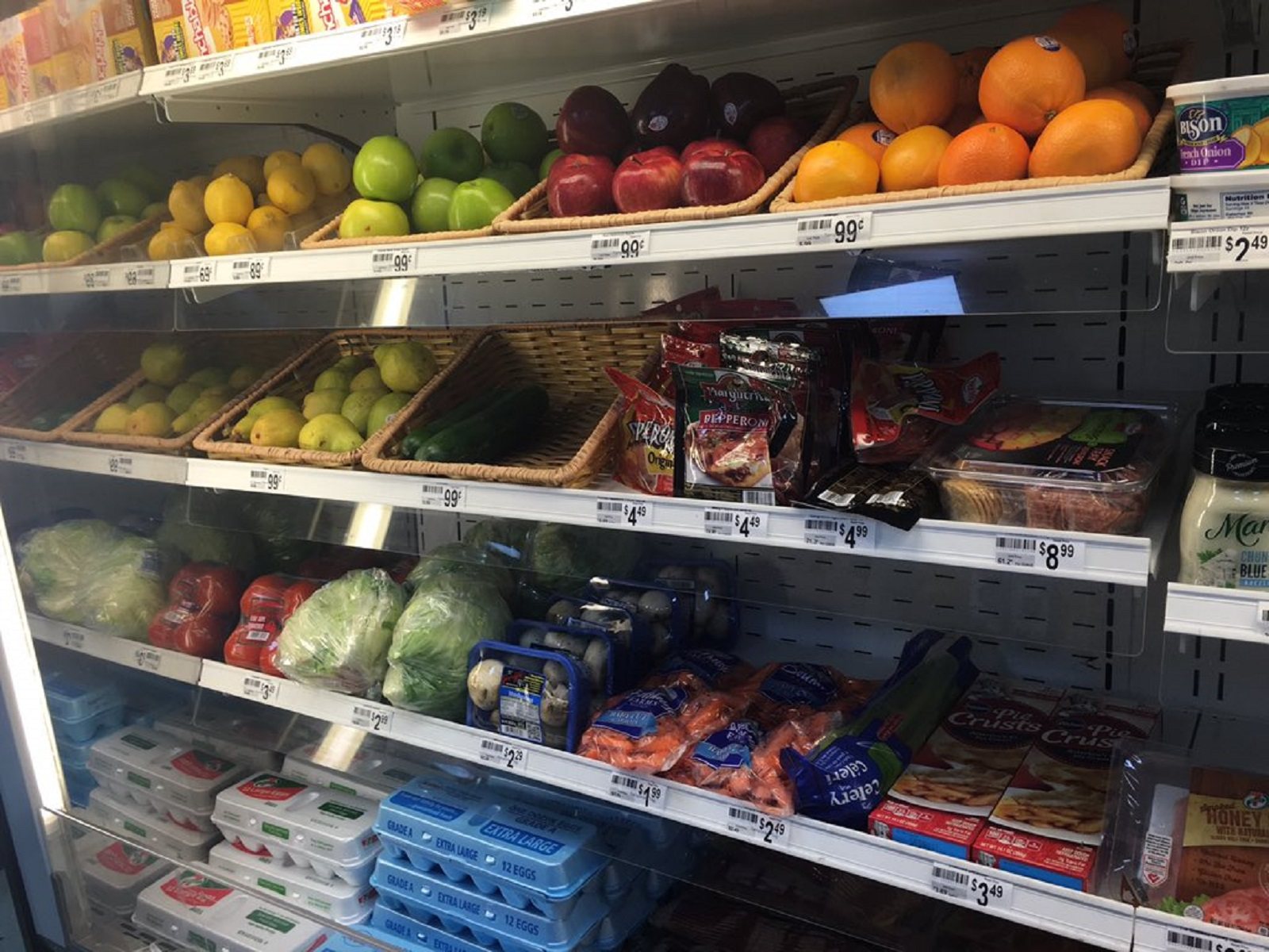 You can make healthy food choices - even at the gas station convenience store. (Photo by Kaitlyn Summers)