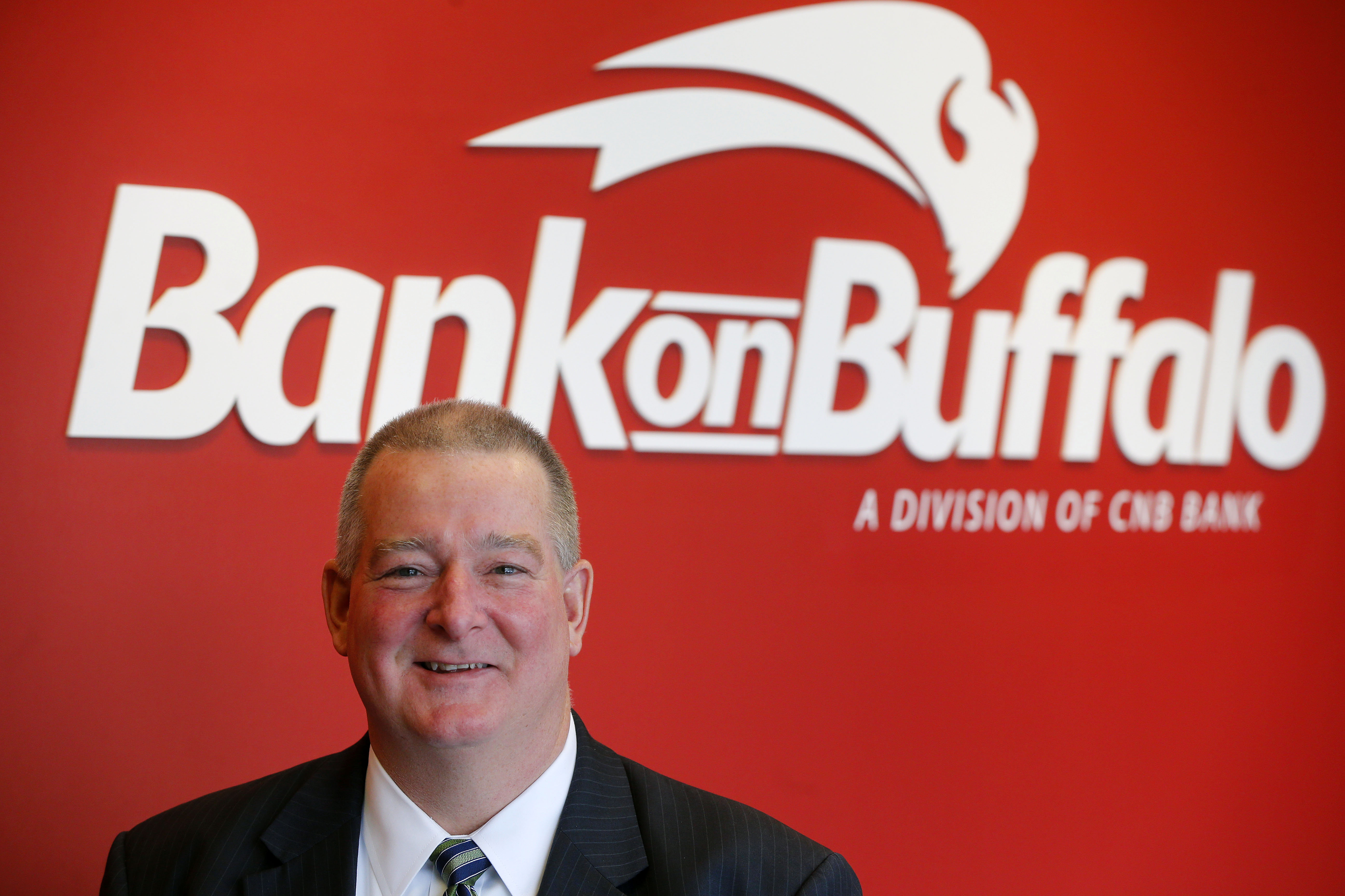 Martin Griffith is president of Bank on Buffalo.       (Mark Mulville/Buffalo News file photo)