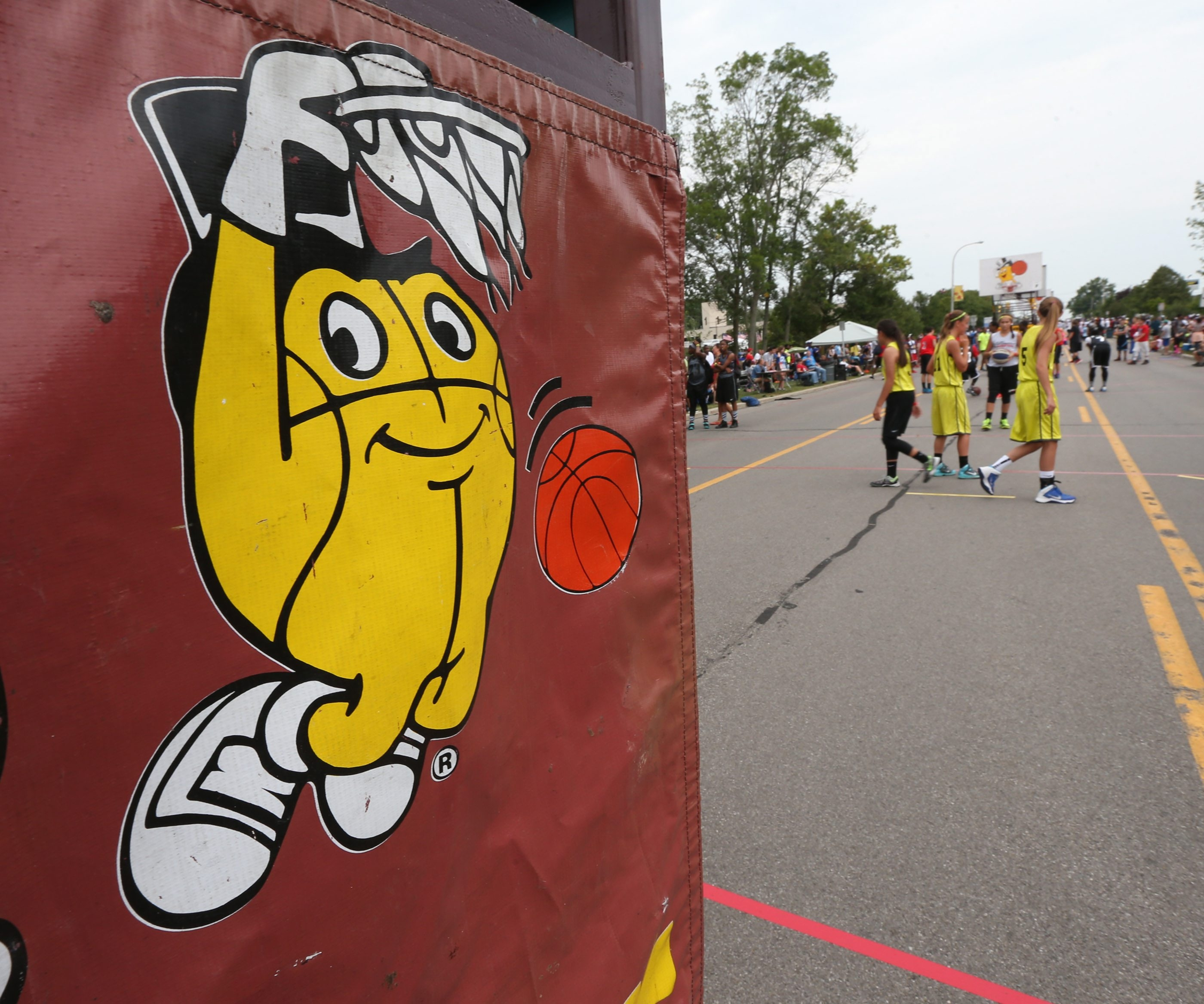 The Gus Macker will be held June 10-11 on Grand Island. (James P. McCoy/Buffalo News file photo)