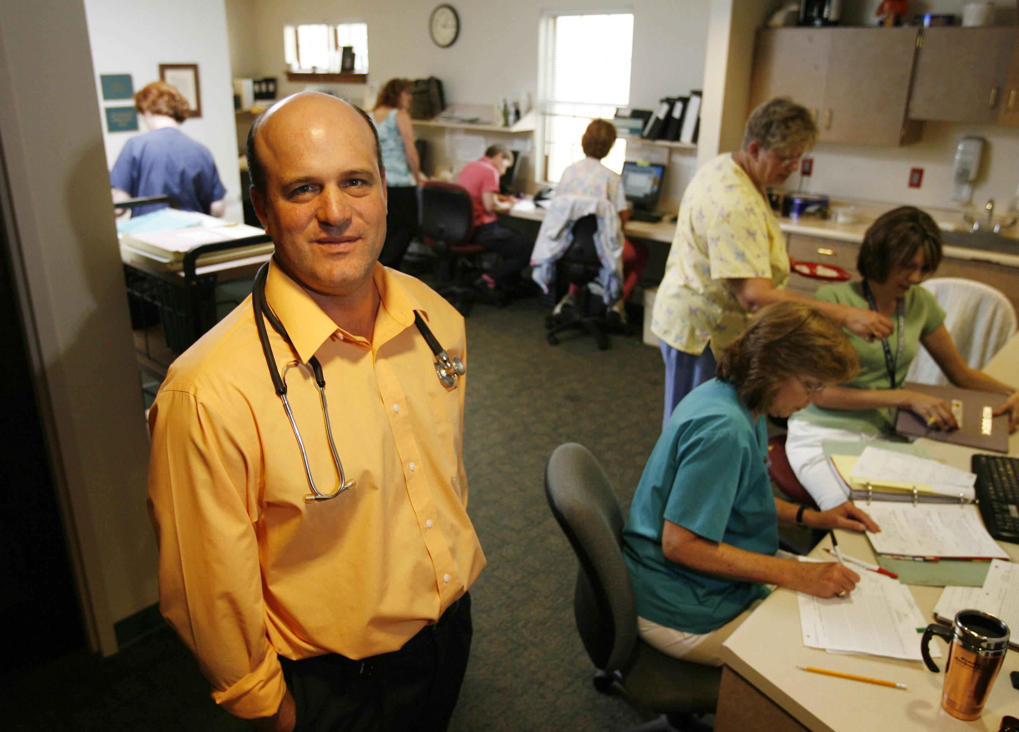 The Center for Hospice & Palliative Care has named Dr. Christopher Kerr its new chief executive officer. (Sharon Cantillon/ Buffalo News file photo)