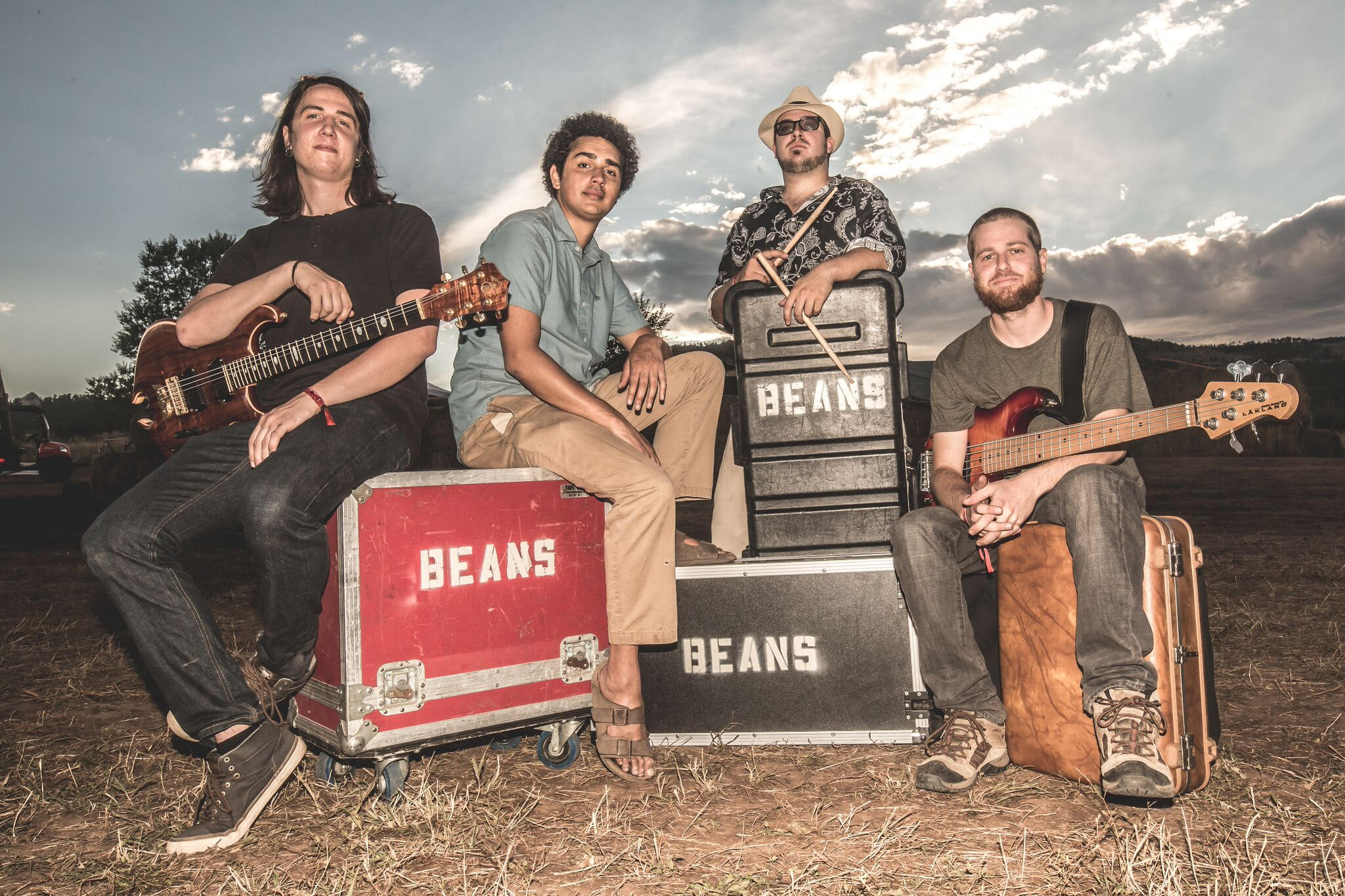 The Colorado band Magic Beans performs at Buffalo Iron Works.