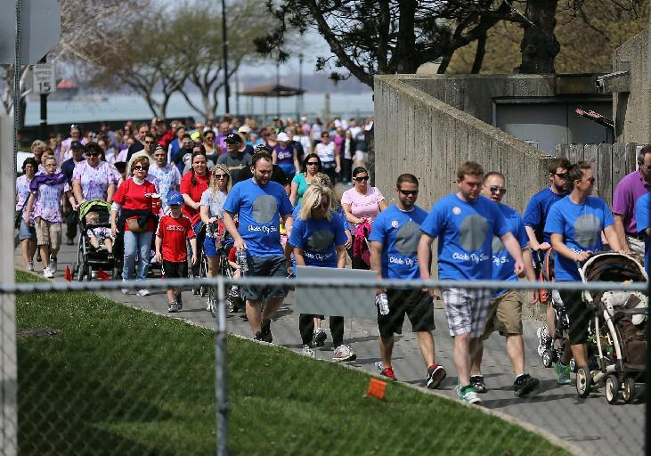 This year's March for Babies in Western New York will take place Sunday at Canalside. (Buffalo News file photo)