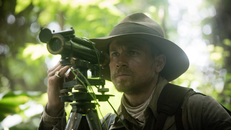 Charlie Hunnam plays British explorer Percy Fawcett in 'The Lost City of Oz.'