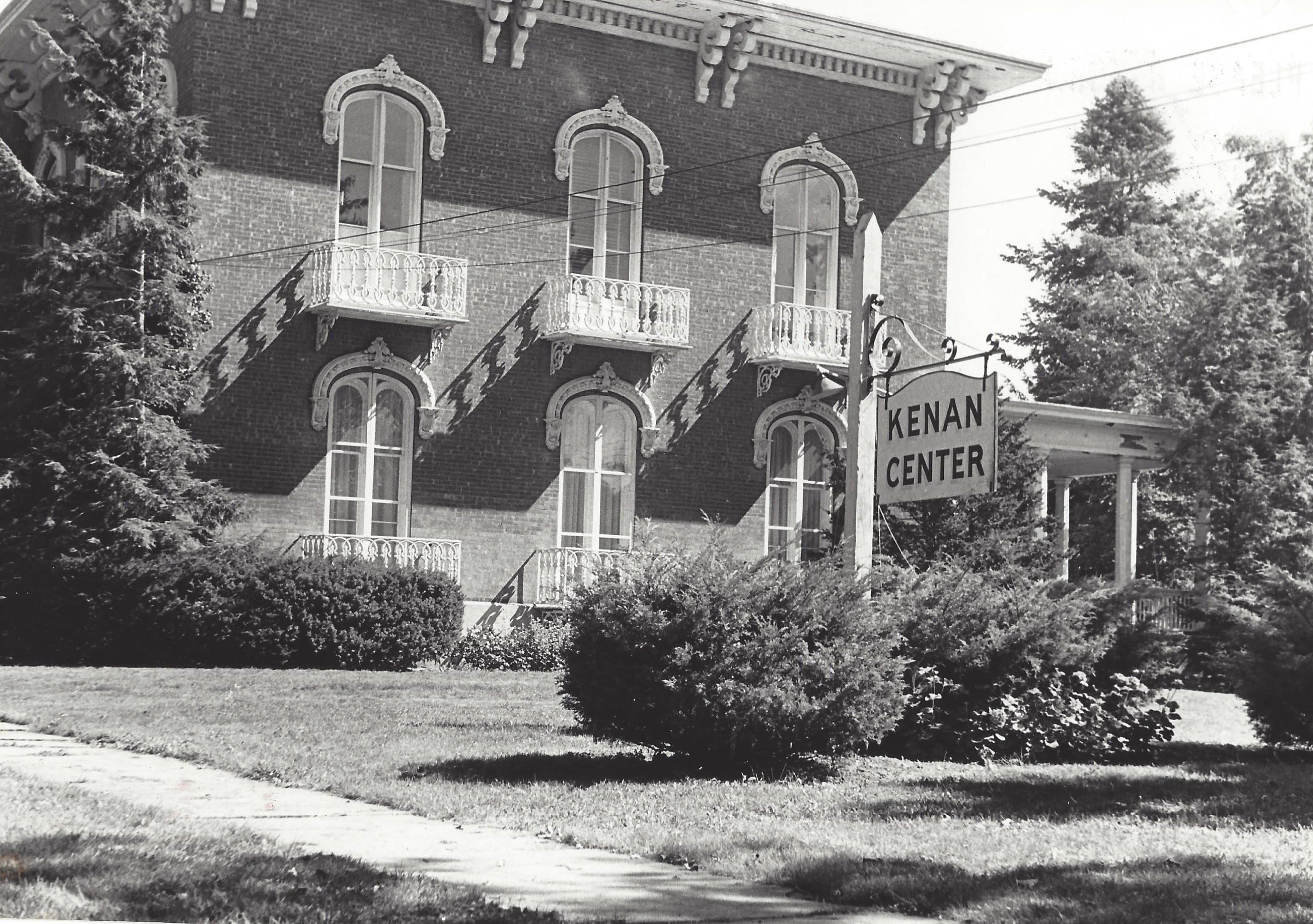 The Kenan Center, shown in an undated photo, has long been a cultural fixture in Lockport.
