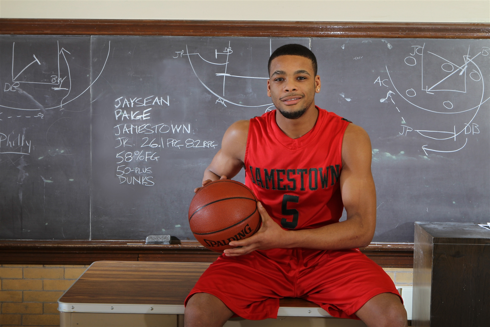 Jaysean Paige earned All-Western New York first team honors during the 2010-11 season with Jamestown. (James P. McCoy/Buffalo News file photo)