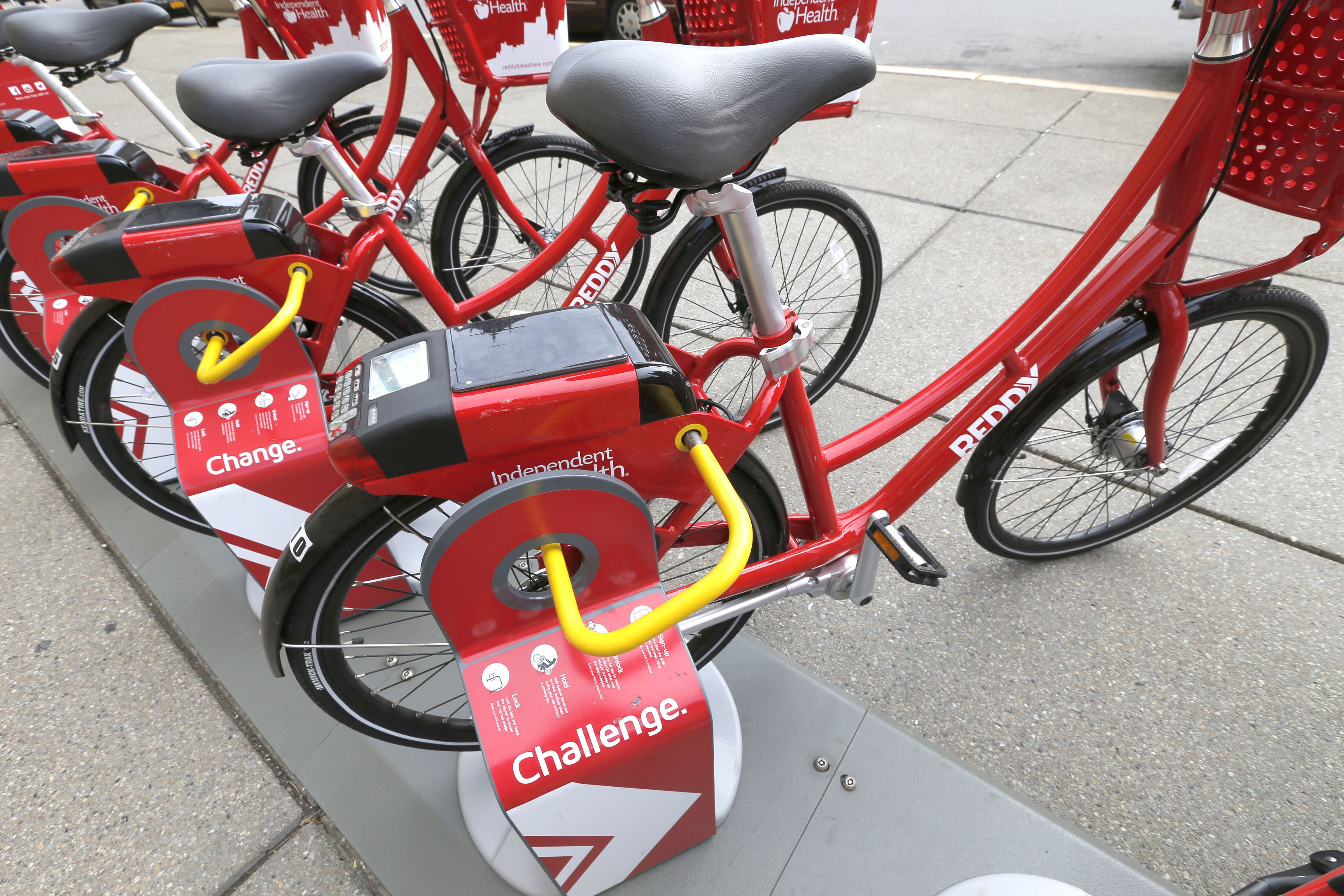 Reddy Bikeshare will have two stations on the Medical Campus. (Robert Kirkham/Buffalo News file photo)