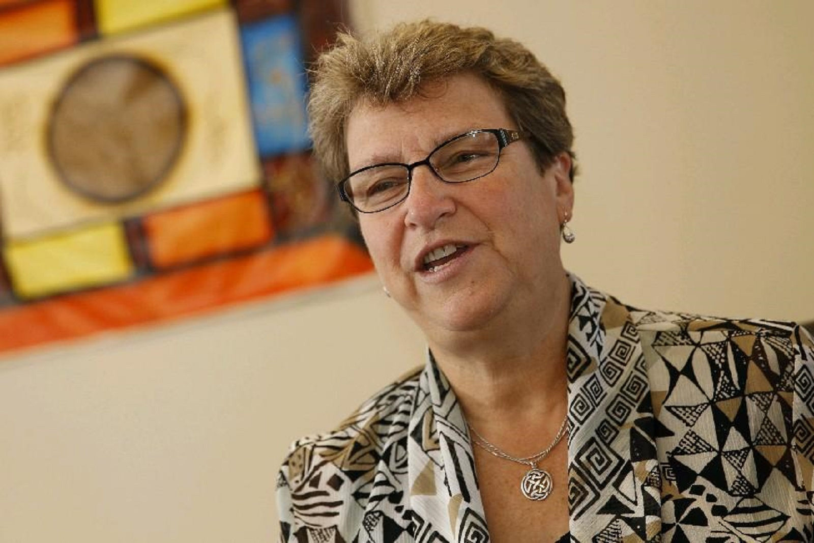 Suzanne Bissonette is executive director of Cazenovia Recovery Systems. (Sharon Cantillon/Buffalo News file photo)