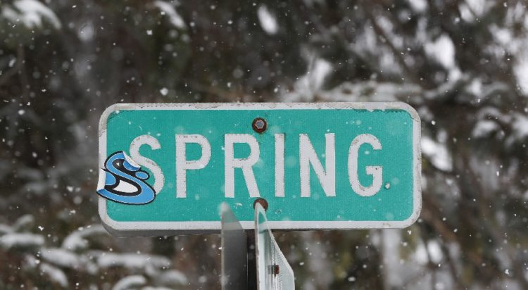 Spring arrives at 5:58 p.m. today under what's expected to be a mostly sunny day. Snowflakes return to the forecast later this week, however. (Harry Scull Jr./Buffalo News file photo)