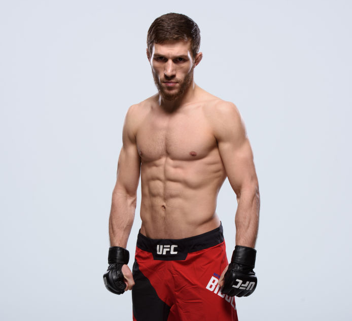 Chechen flyweight Magomed Bibulatov will make his UFC debut Saturday during UFC 201 at Buffalo's KeyBank Center. (Photo courtesy of Zuffa LLC and Getty Images)