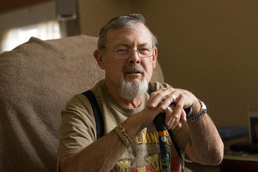 Vietnam vet Kenneth Pepper, a native of England, is proud of his service even though he ended up having to pay to become a U.S. citizen. (Derek Gee/Buffalo News)
