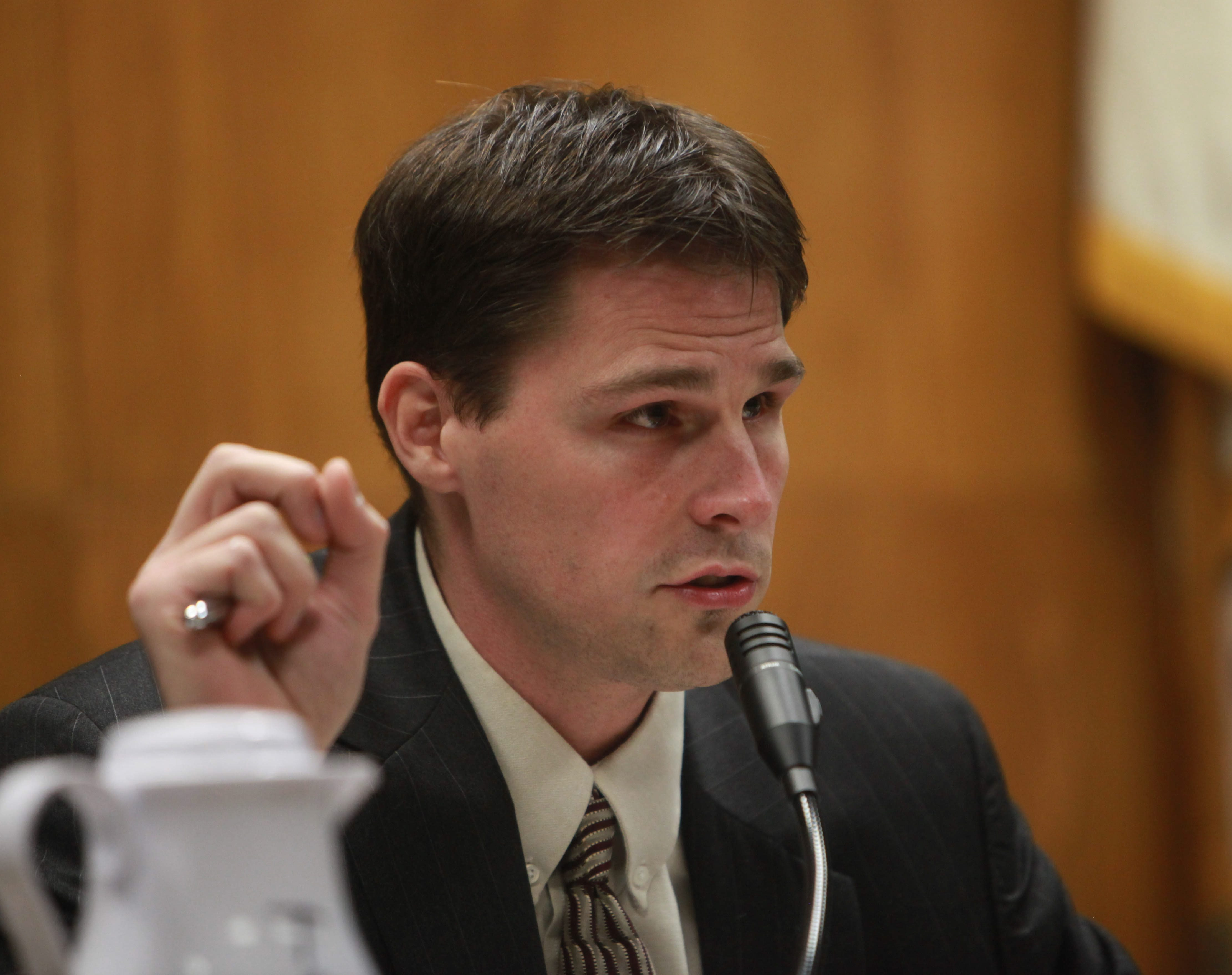 Hamburg Supervisor Steven Walters said he hoped to have more information in two weeks. (Photo by Sharon Cantillon / Buffalo News)