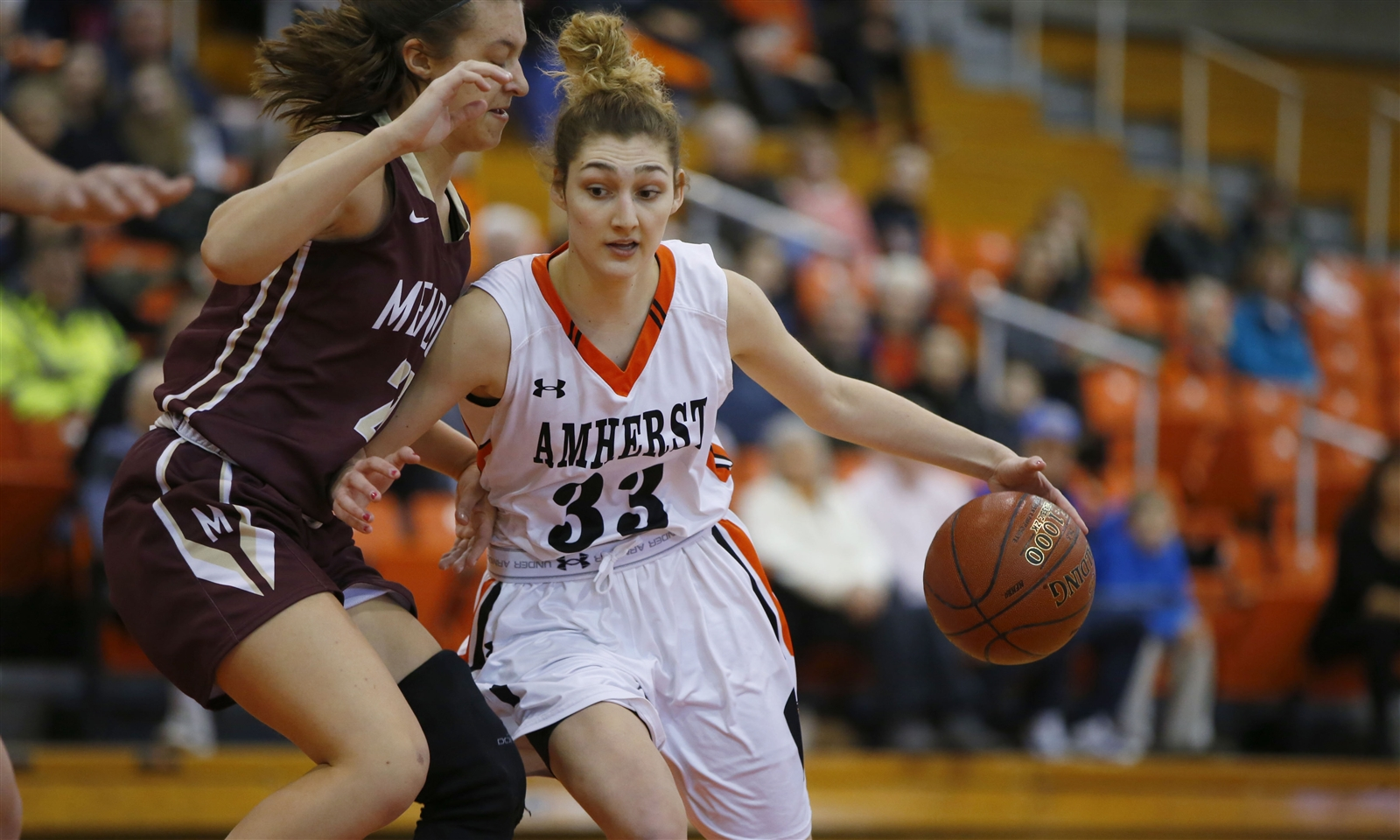 All-Western New York first-team selection Claire Wanzer averaged nearly 20 points per game in helping Amherst win the Section VI Class A championship. (Harry Scull Jr./Buffalo News)