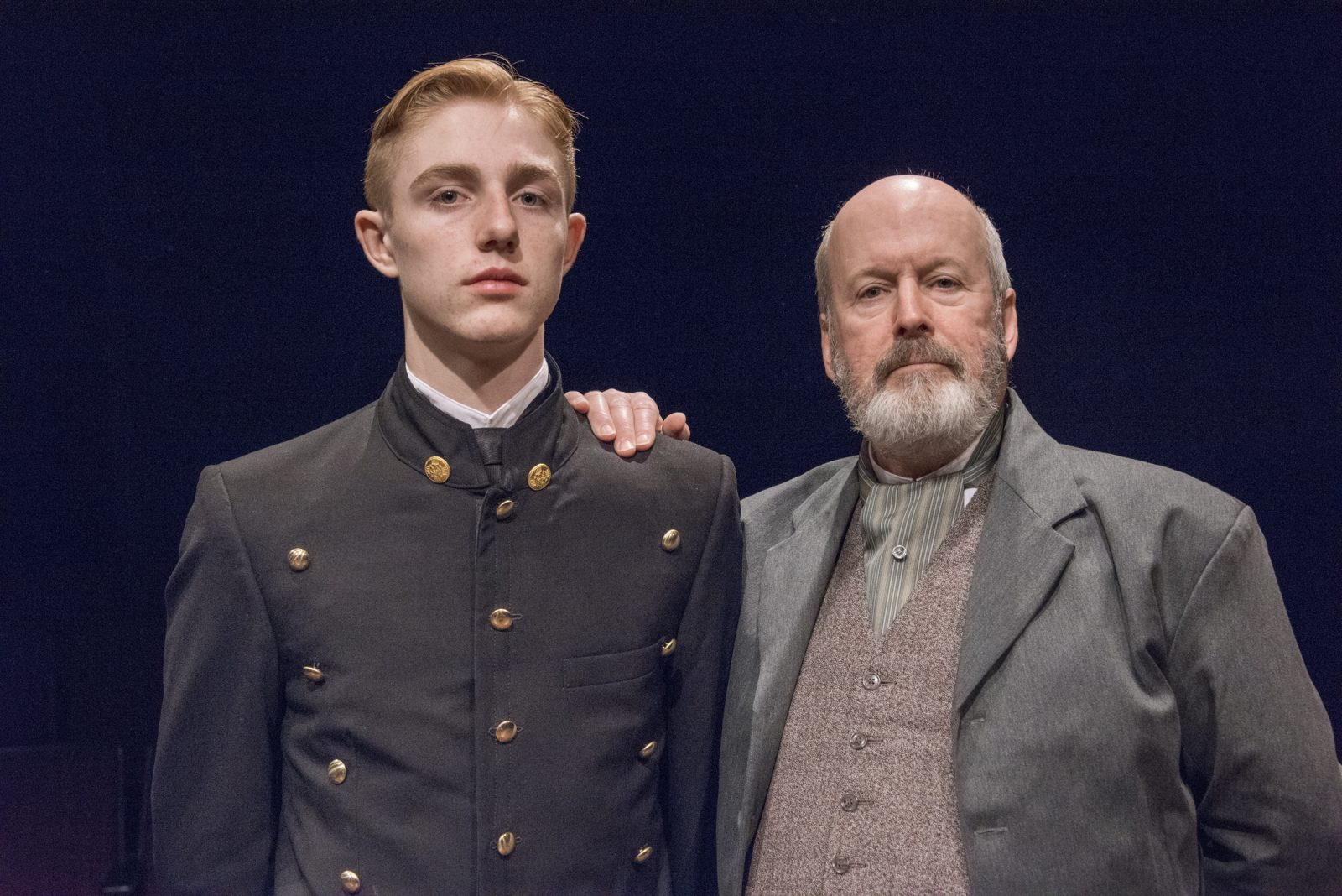 Collan Zimmerman and Robert Rutland appear in the Irish Classical Theatre Company's production of 'The Winslow Boy.'