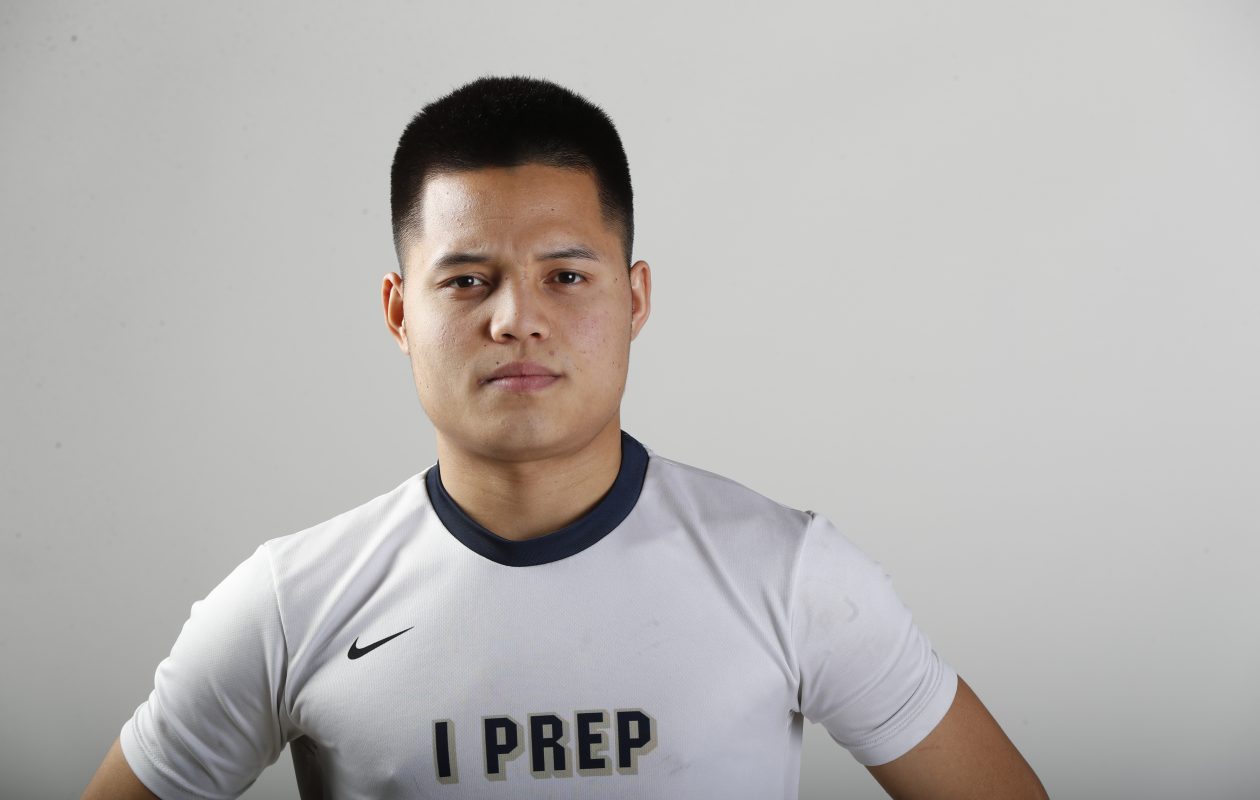 The Prep Talk Player of the Year for boys soccer is Pa Lu of I-Prep. (Harry Scull Jr./Buffalo News)