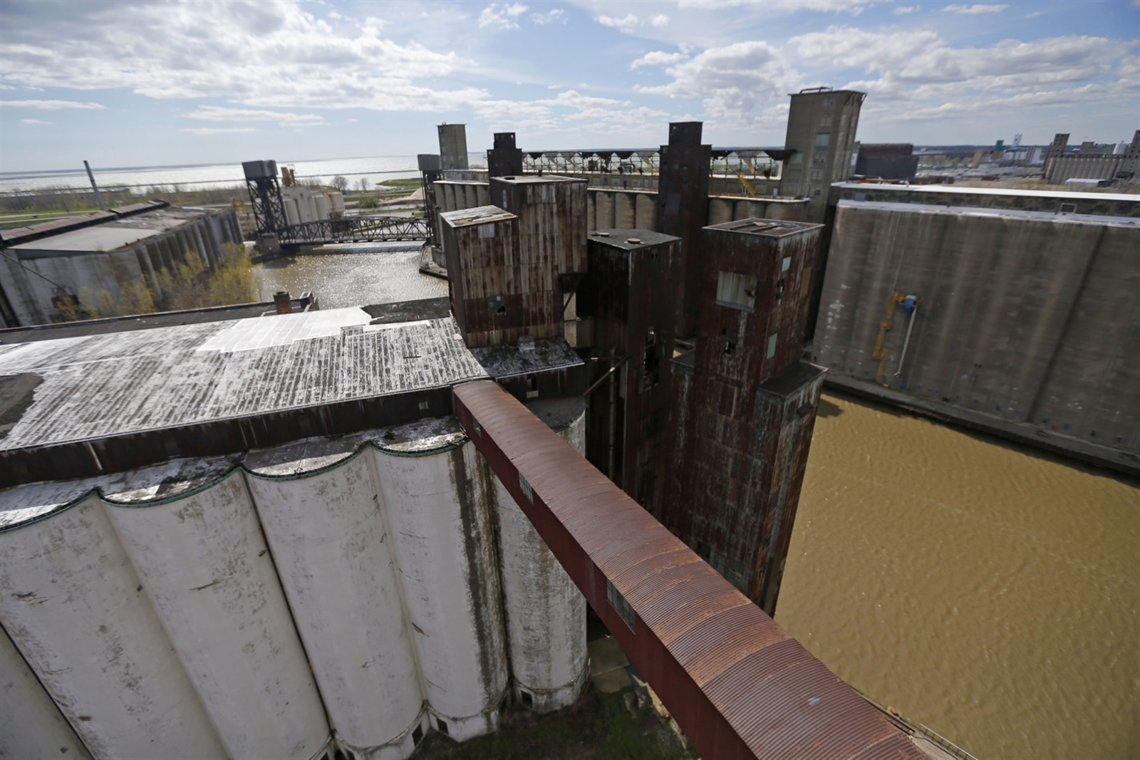 Silo City is part of Buffalo's 'Elevator Alley,' which makes up the densest collection of concrete grain elevators in the world. (Robert Kirkham/Buffalo News)