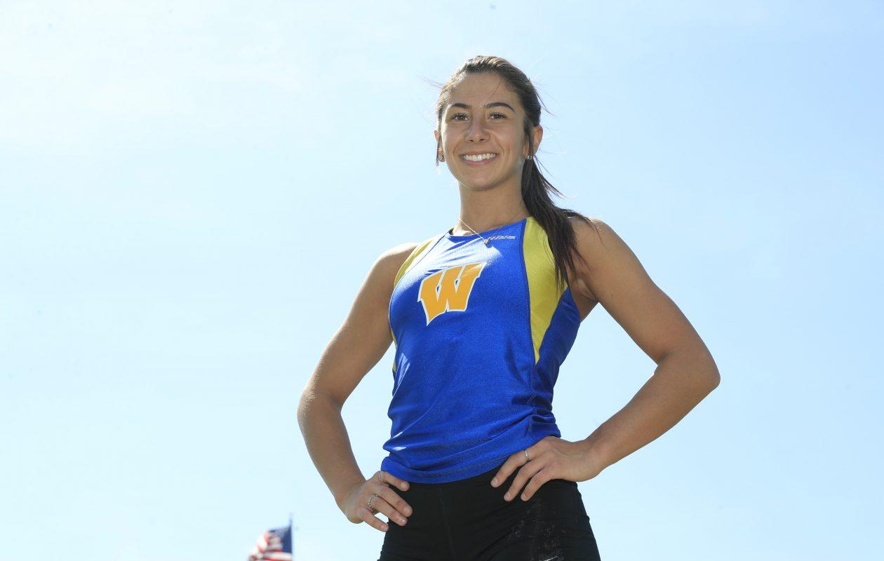 Prep Talk Female Athlete of the Week: Emily Marchitte, West Seneca West track & field. (Harry Scull Jr./Buffalo News)