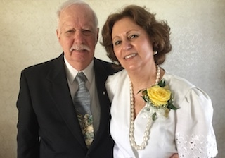 George and Laura Beckinghausen celebrate 50th anniversary