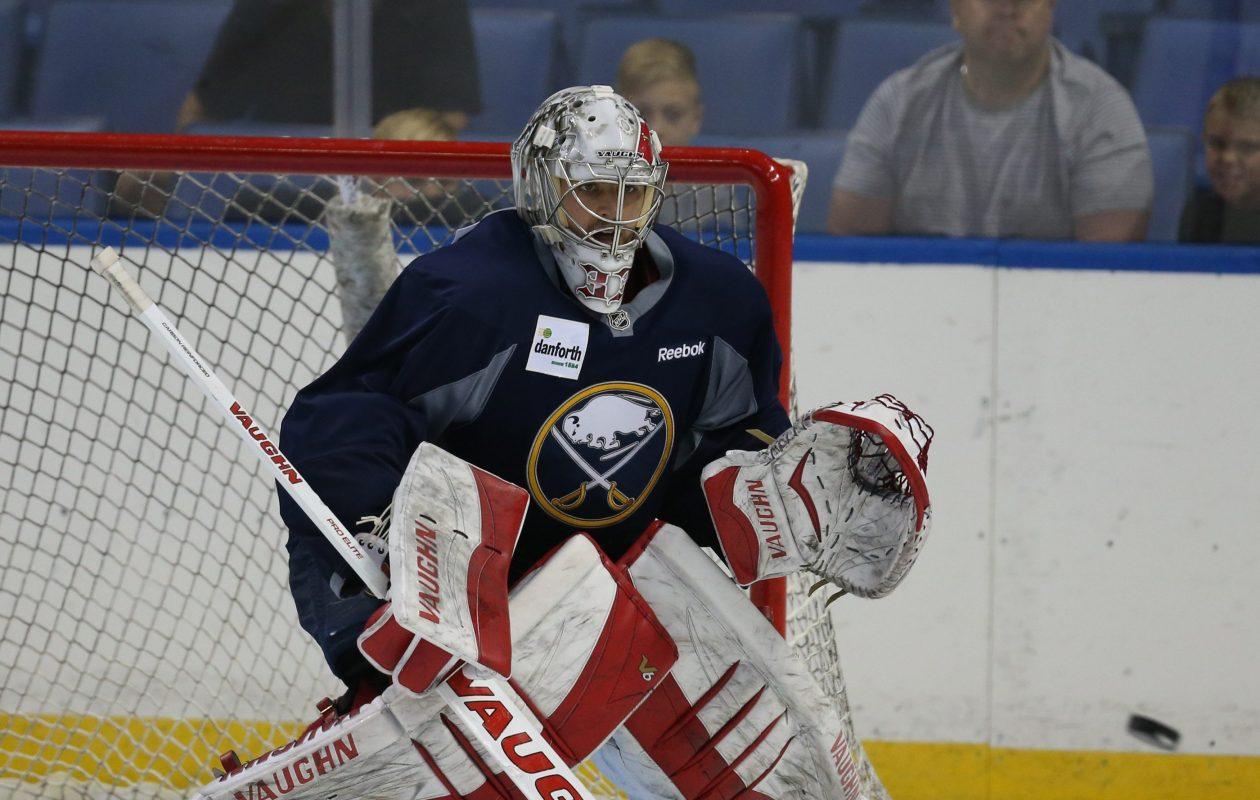 Jason Kasdorf played for the Sabres' ECHL affiliate this season. (James P. McCoy/Buffalo News)