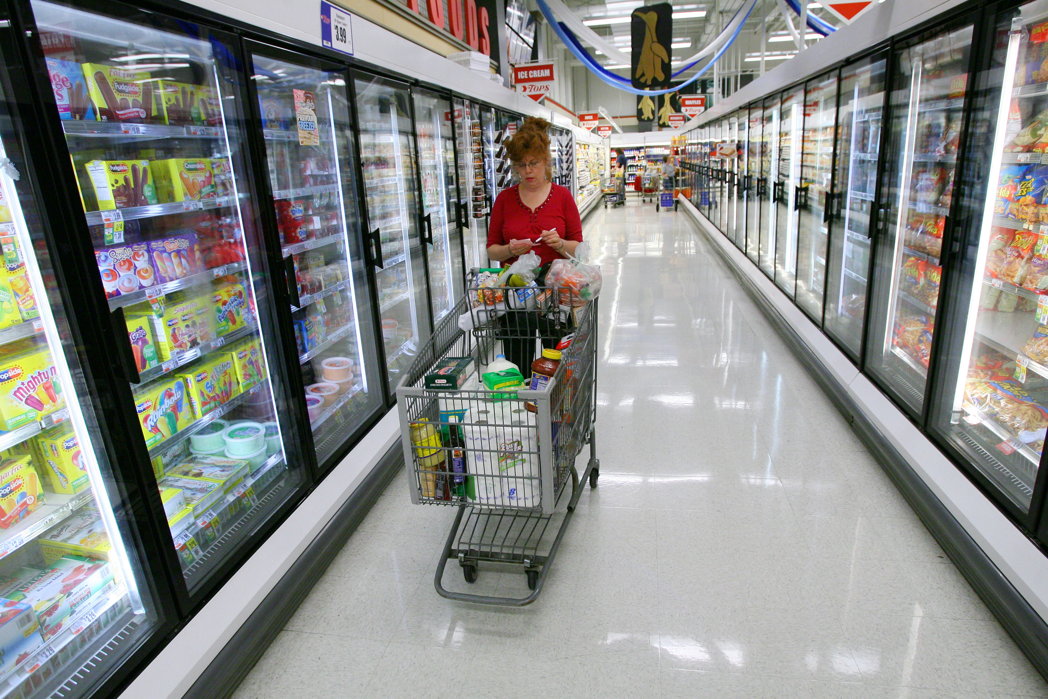 Is it crazy frugal, or just crazy, to spend an entire day grocery shopping? (News file photo)