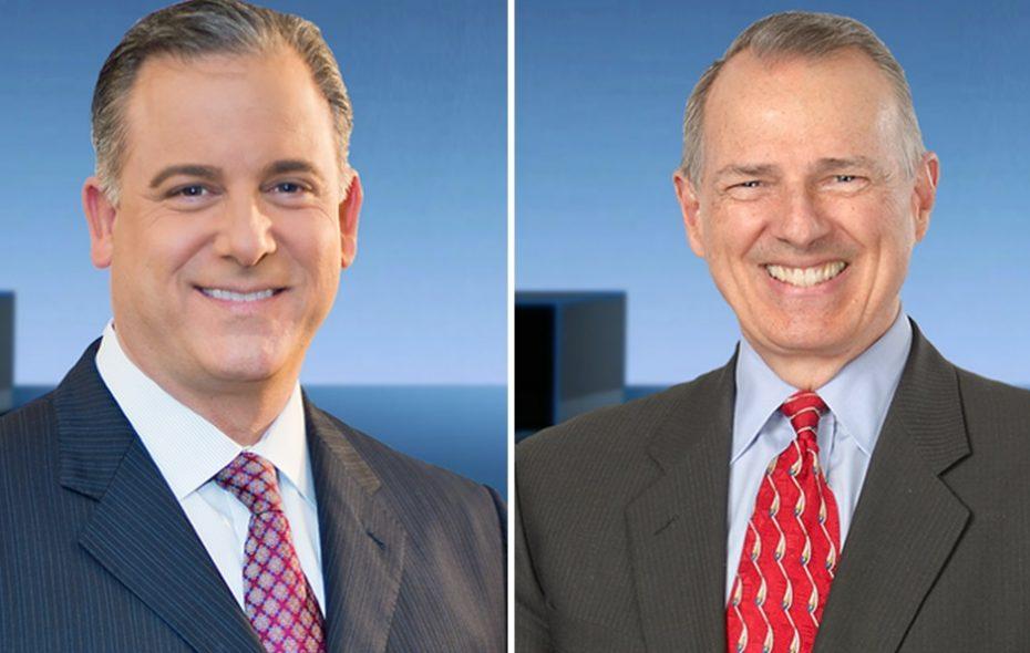 Updates on Channel 2's Scott Levin, left, and John Beard. (via WGRZ)