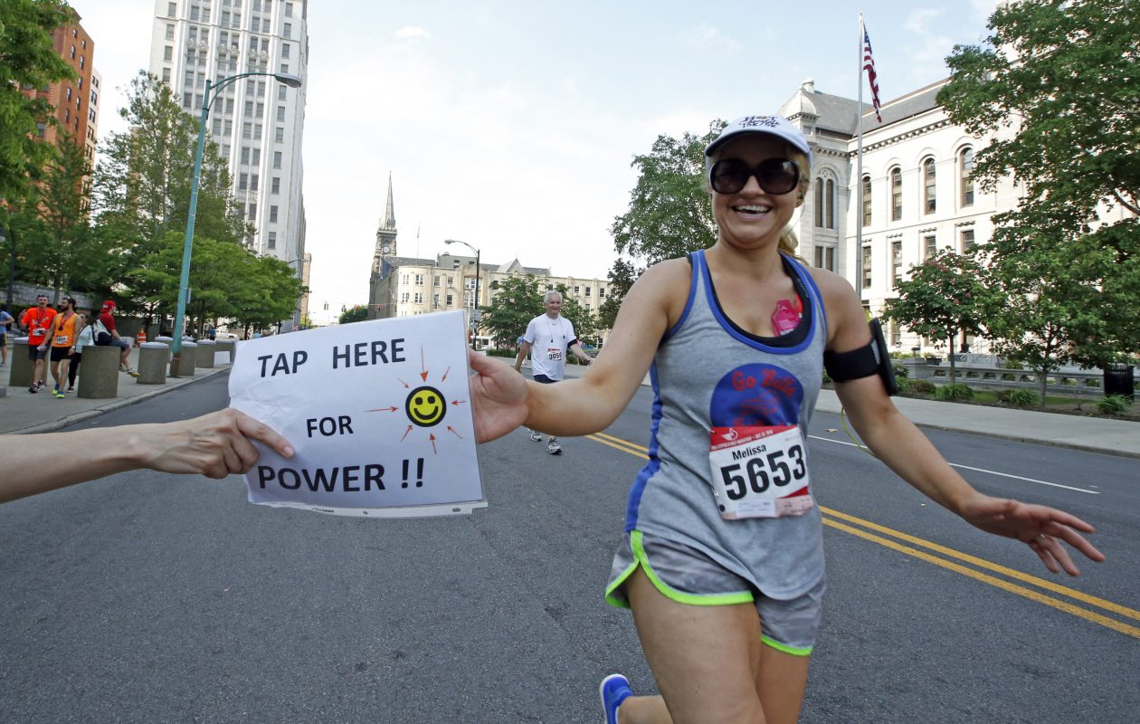 Roughly 50 streets, including several main thoroughfares, will be closed Sunday morning and early afternoon for the Buffalo Marathon. (Harry Scull Jr./Buffalo News file photo)